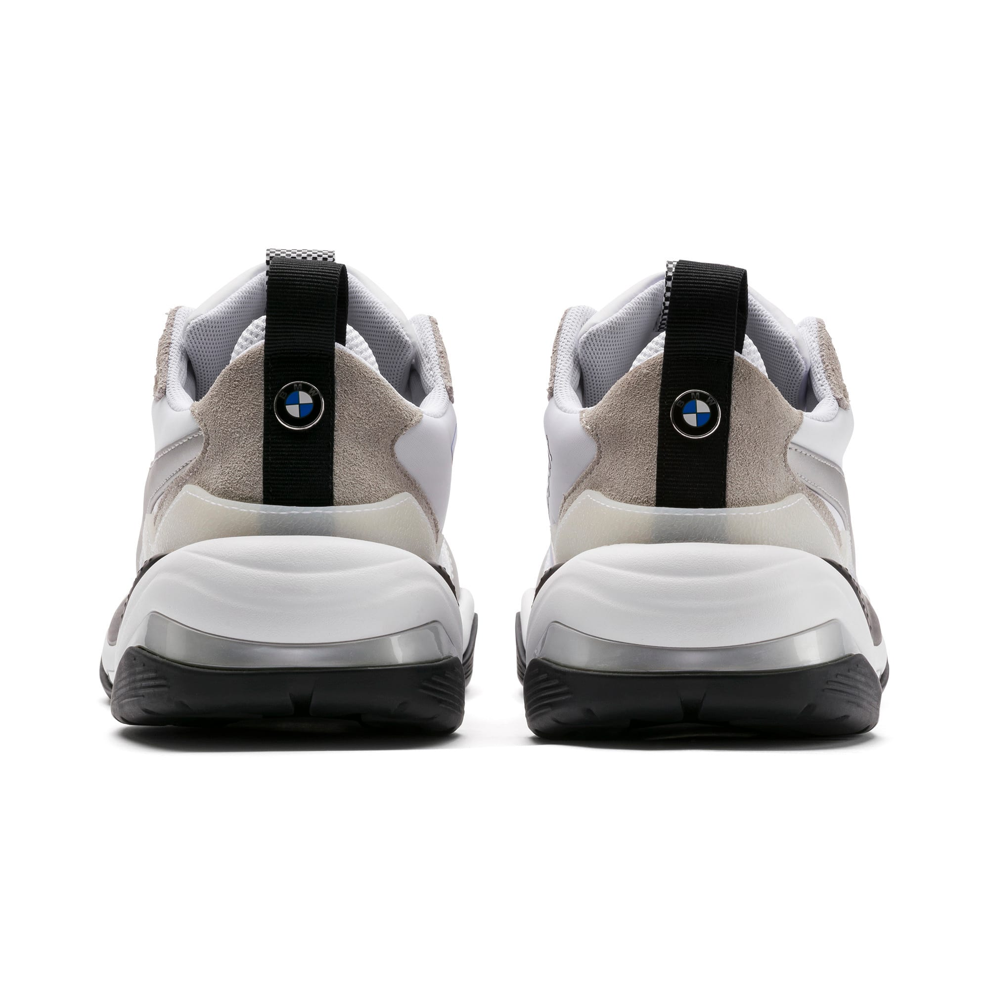 Thumbnail 3 of BMW Thunder Men's Trainers, Puma White-Puma Silver, medium