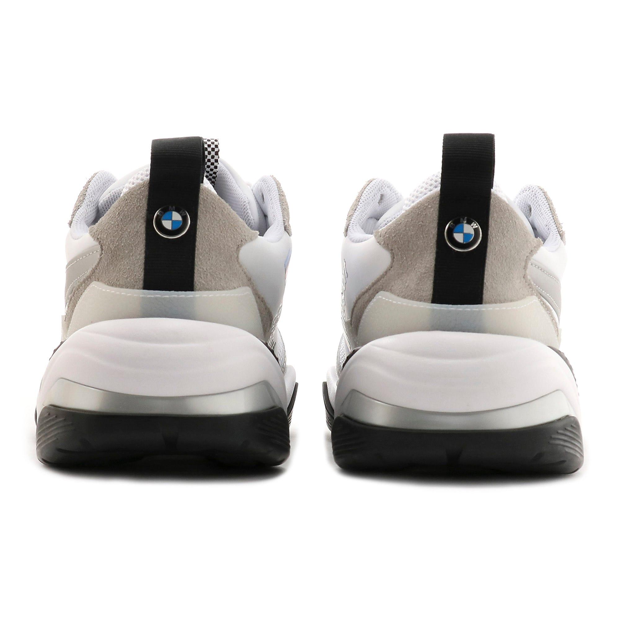 Thumbnail 3 of BMW MMS Thunder Sneakers, Puma White-Puma Silver, medium