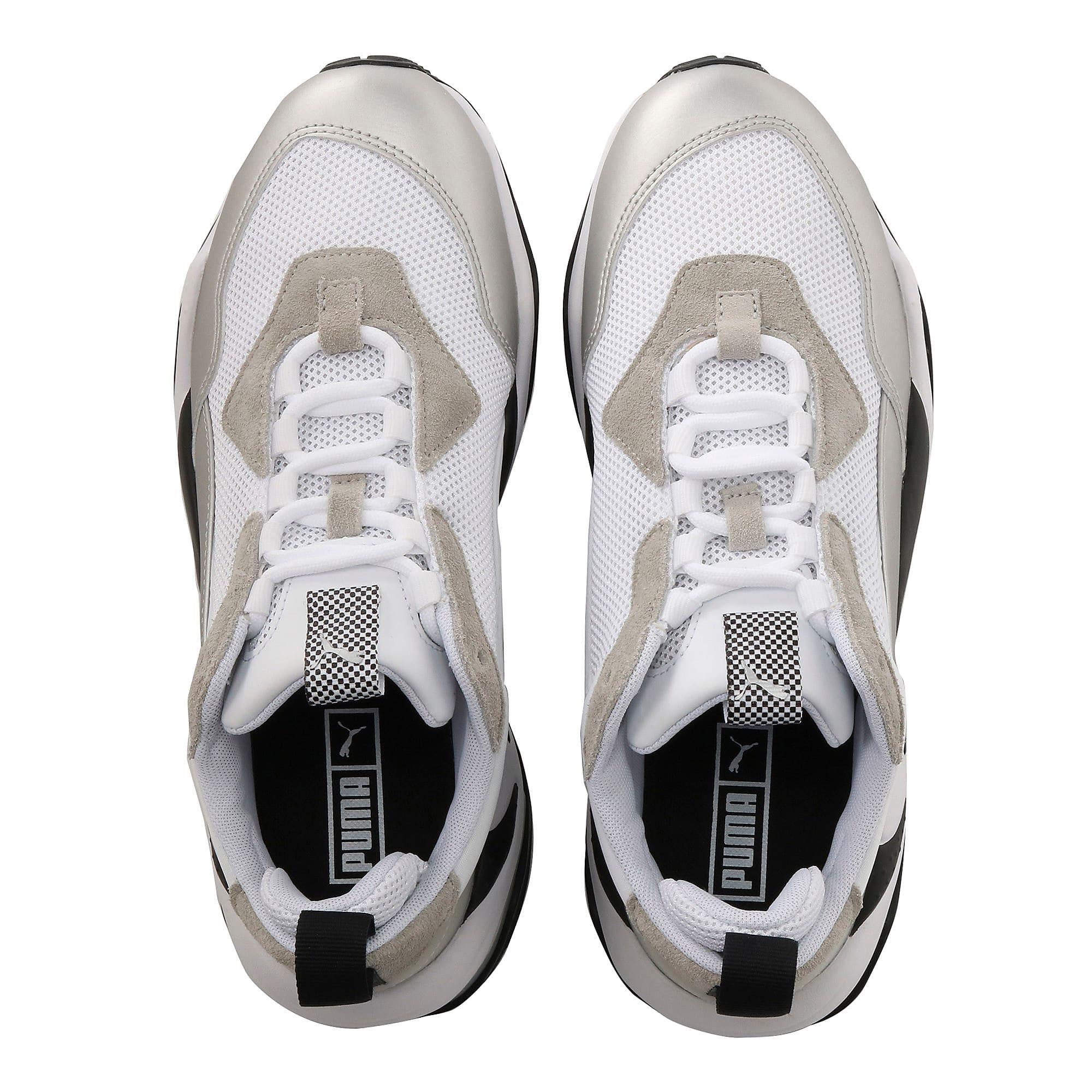 Thumbnail 6 of BMW MMS Thunder Sneakers, Puma White-Puma Silver, medium