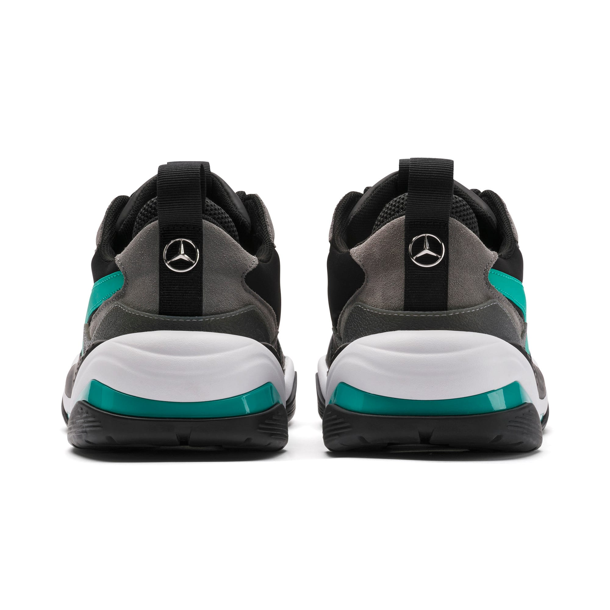 Basket Mercedes AMG Petronas Thunder pour homme, Puma Black-Spectra Green, large