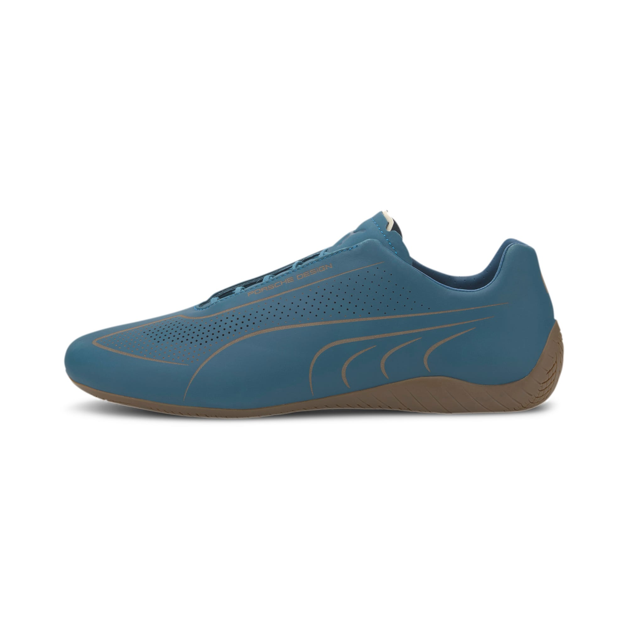 Thumbnail 1 of Porsche Design Speedcat Lux Nubuck Men's Shoes, Moroccan Blue-Moroccan Blue, medium