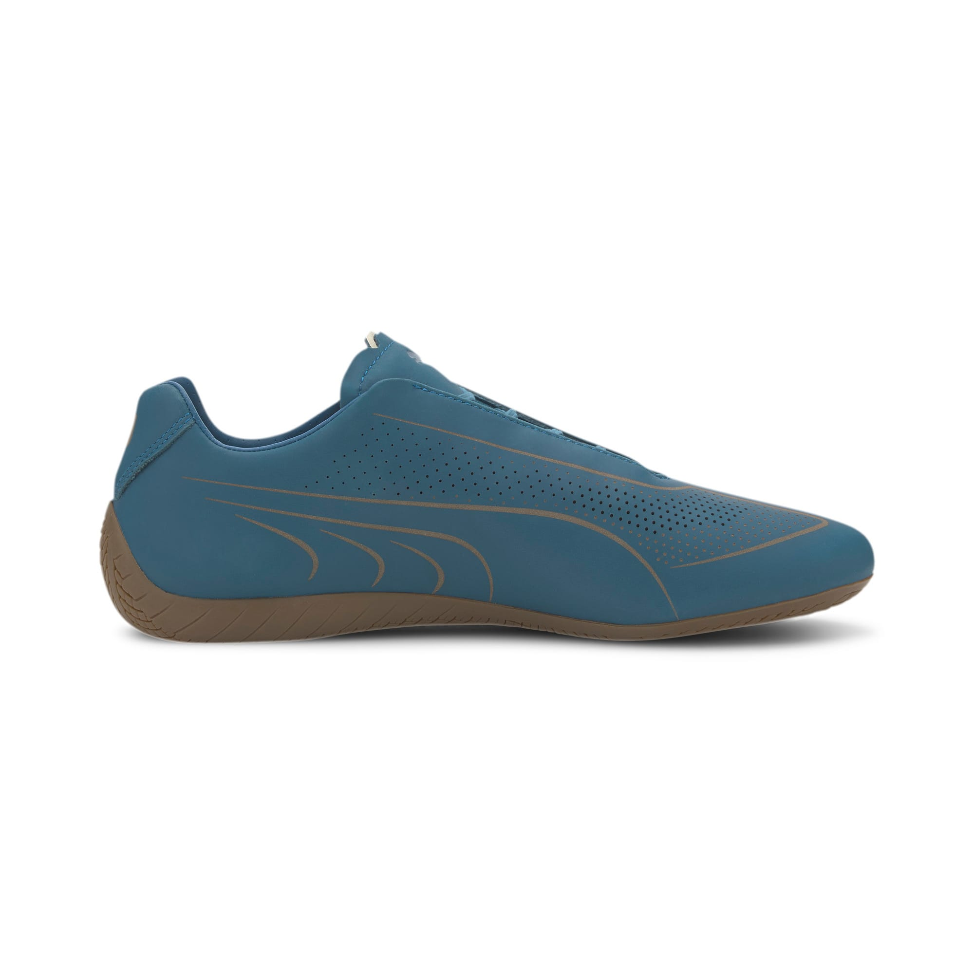 Thumbnail 5 of Porsche Design Speedcat Lux Nubuck Men's Shoes, Moroccan Blue-Moroccan Blue, medium