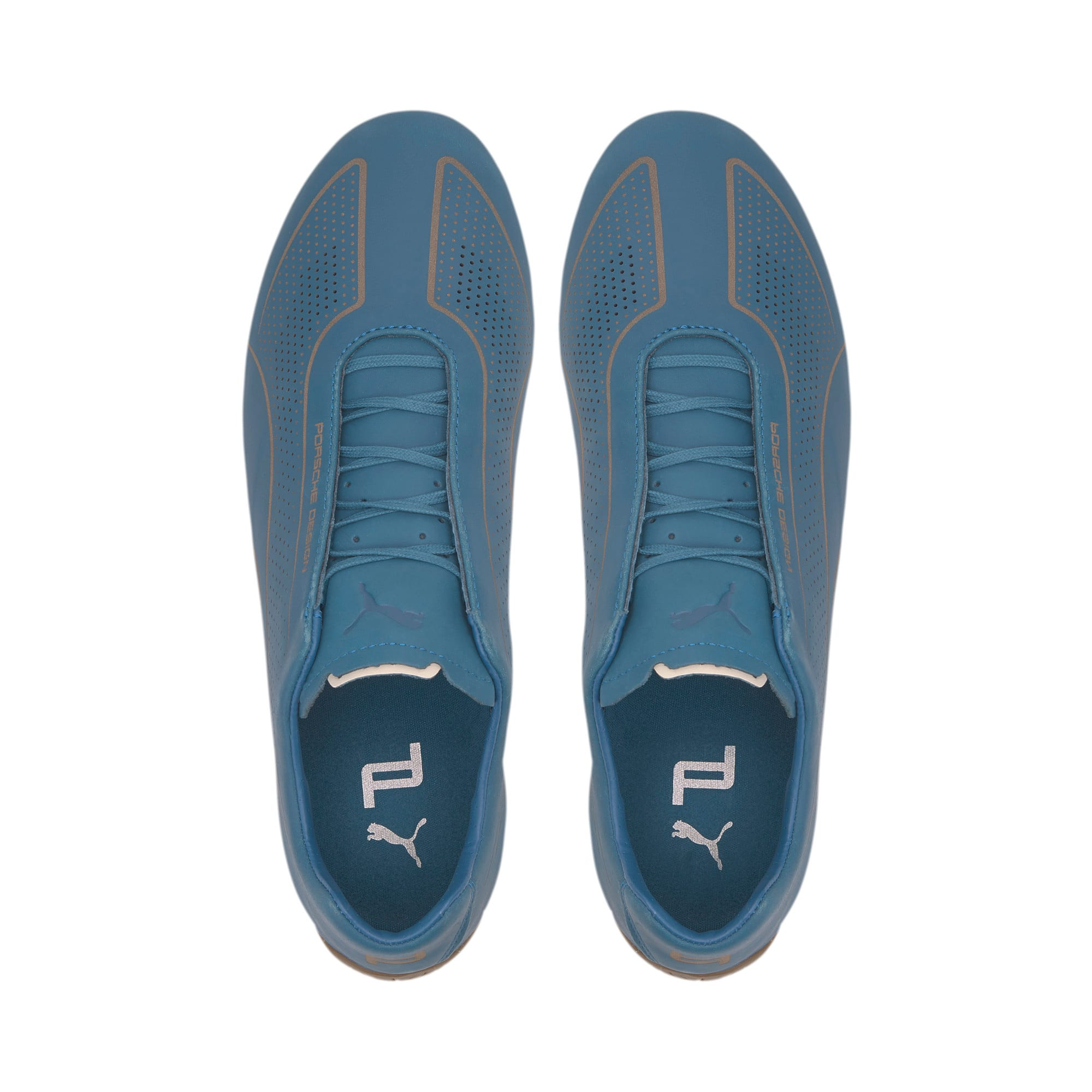 Thumbnail 6 of Porsche Design Speedcat Lux Nubuck Men's Shoes, Moroccan Blue-Moroccan Blue, medium