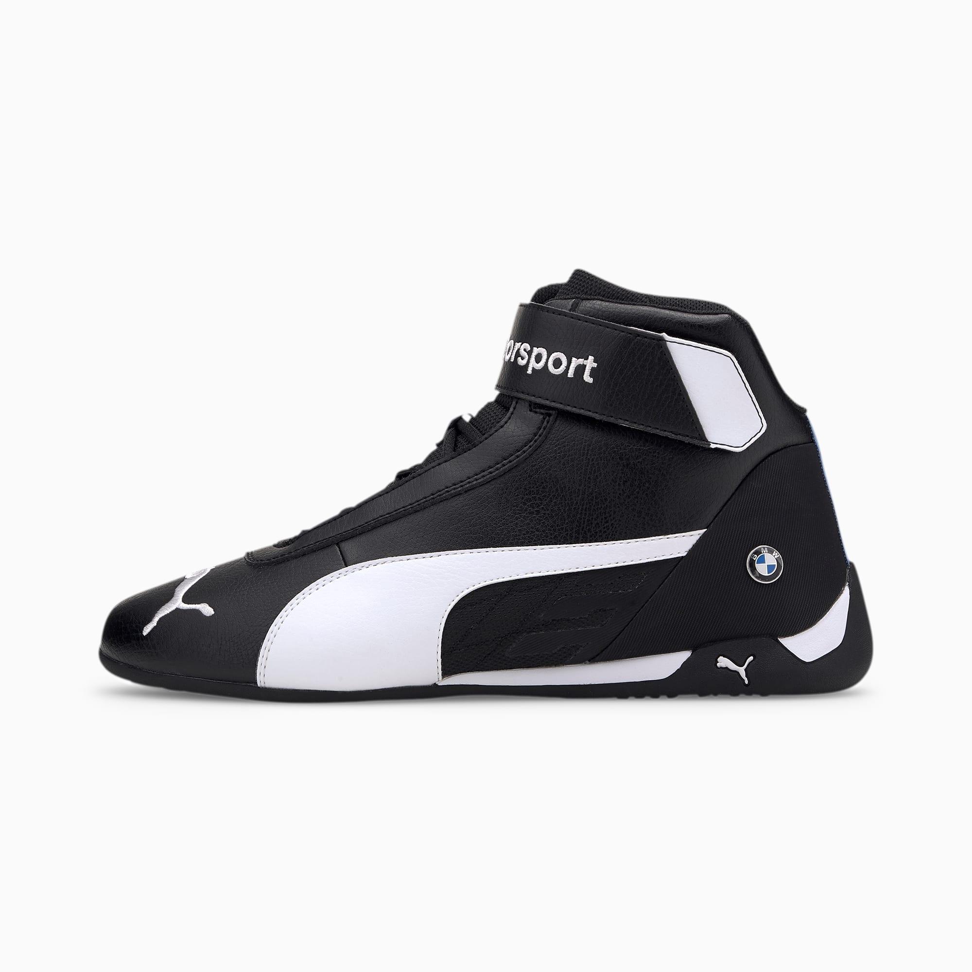 BMW M Motorsport R-Cat Shoes | Puma Black-Puma White | PUMA Shoes