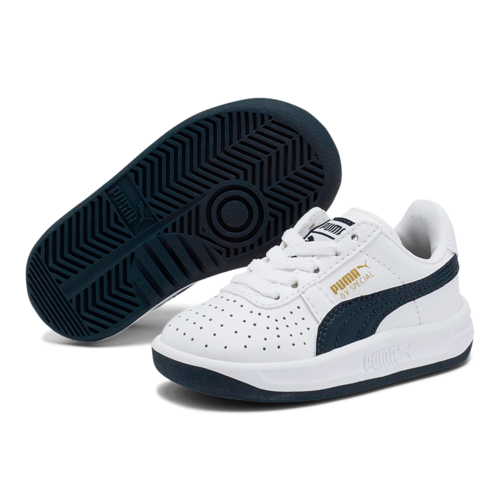 Thumbnail 2 of GV Special Toddler Shoes, Puma White-Peacoat, medium