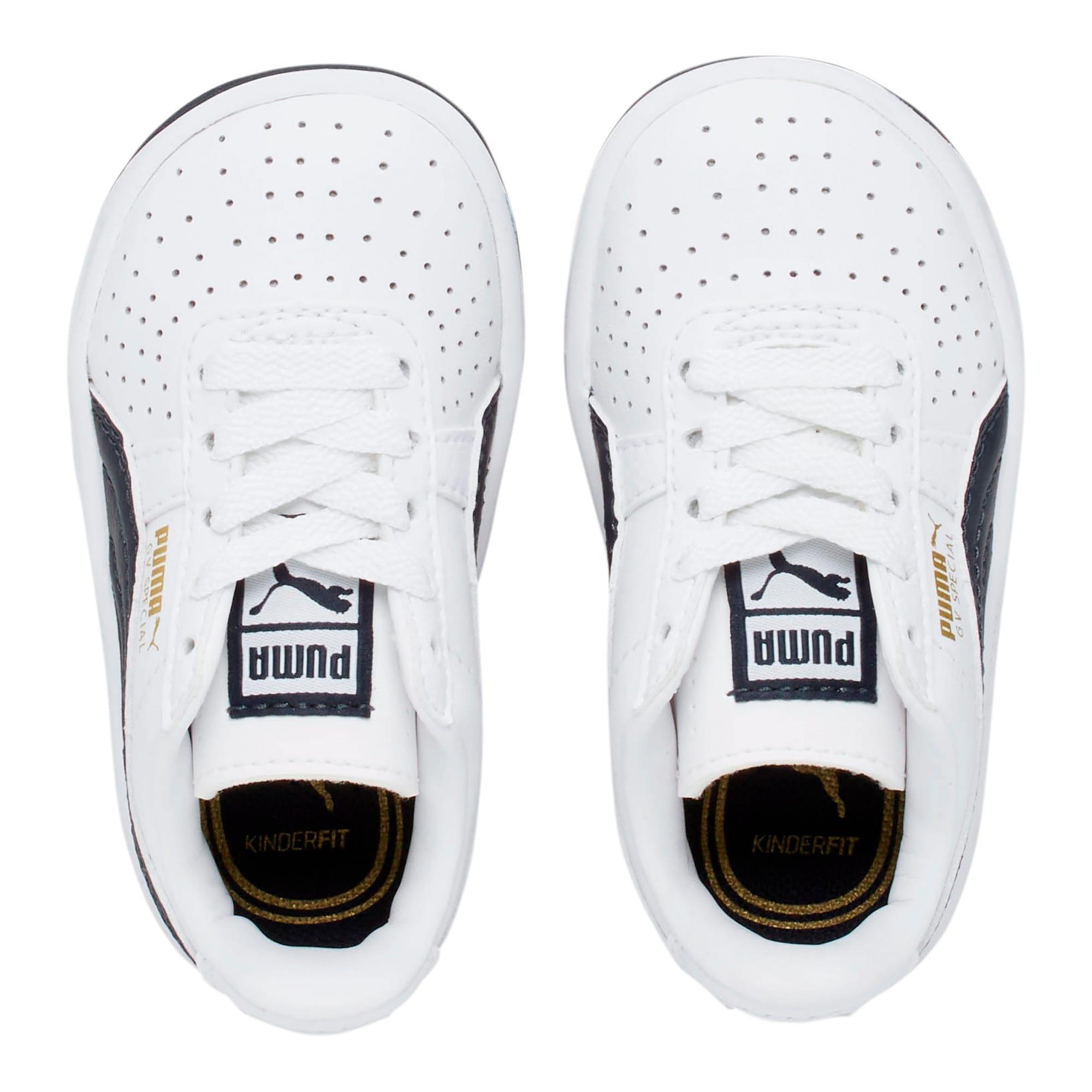 Thumbnail 6 of GV Special Toddler Shoes, Puma White-Peacoat, medium