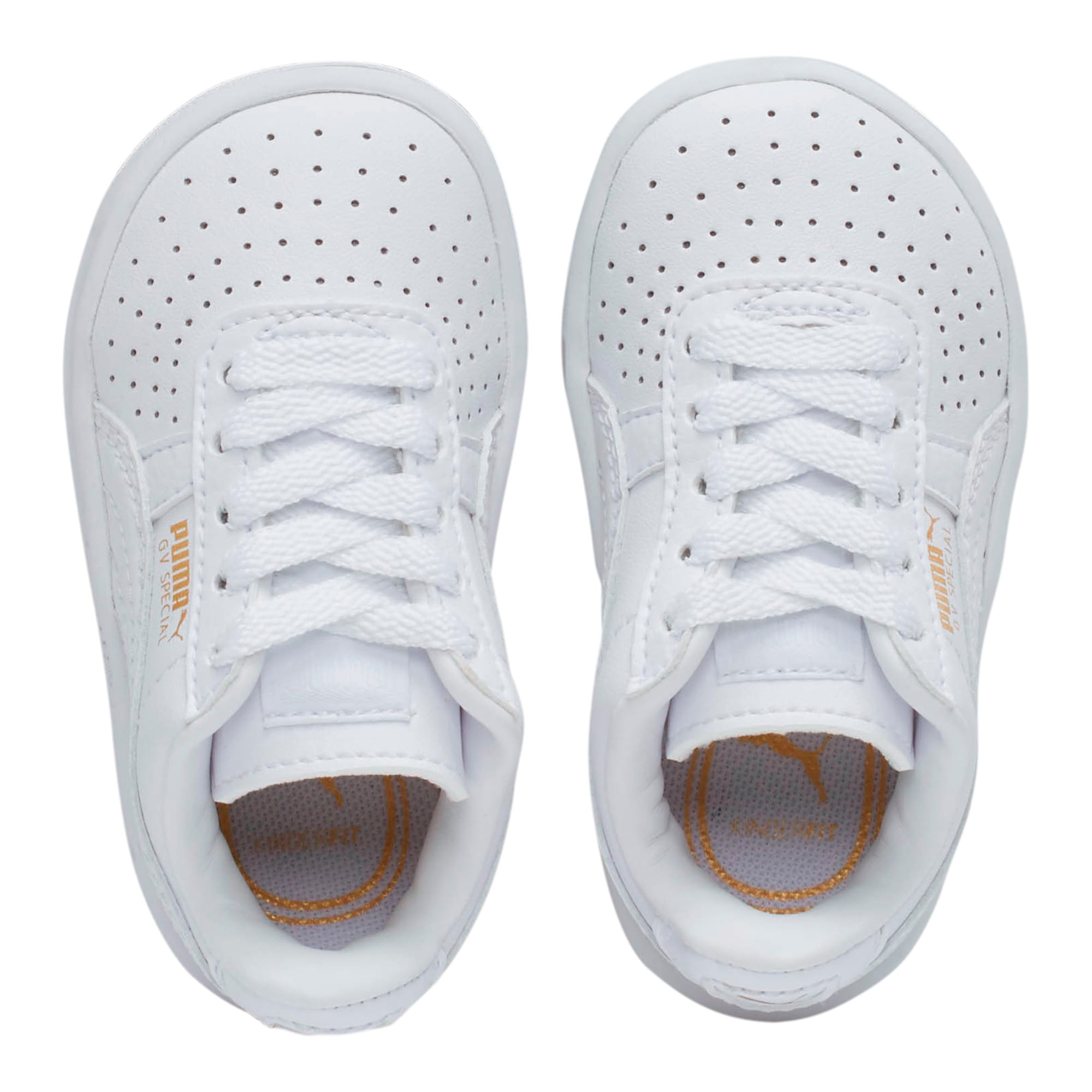 Thumbnail 6 of GV Special Toddler Shoes, Puma White-Puma Team Gold, medium