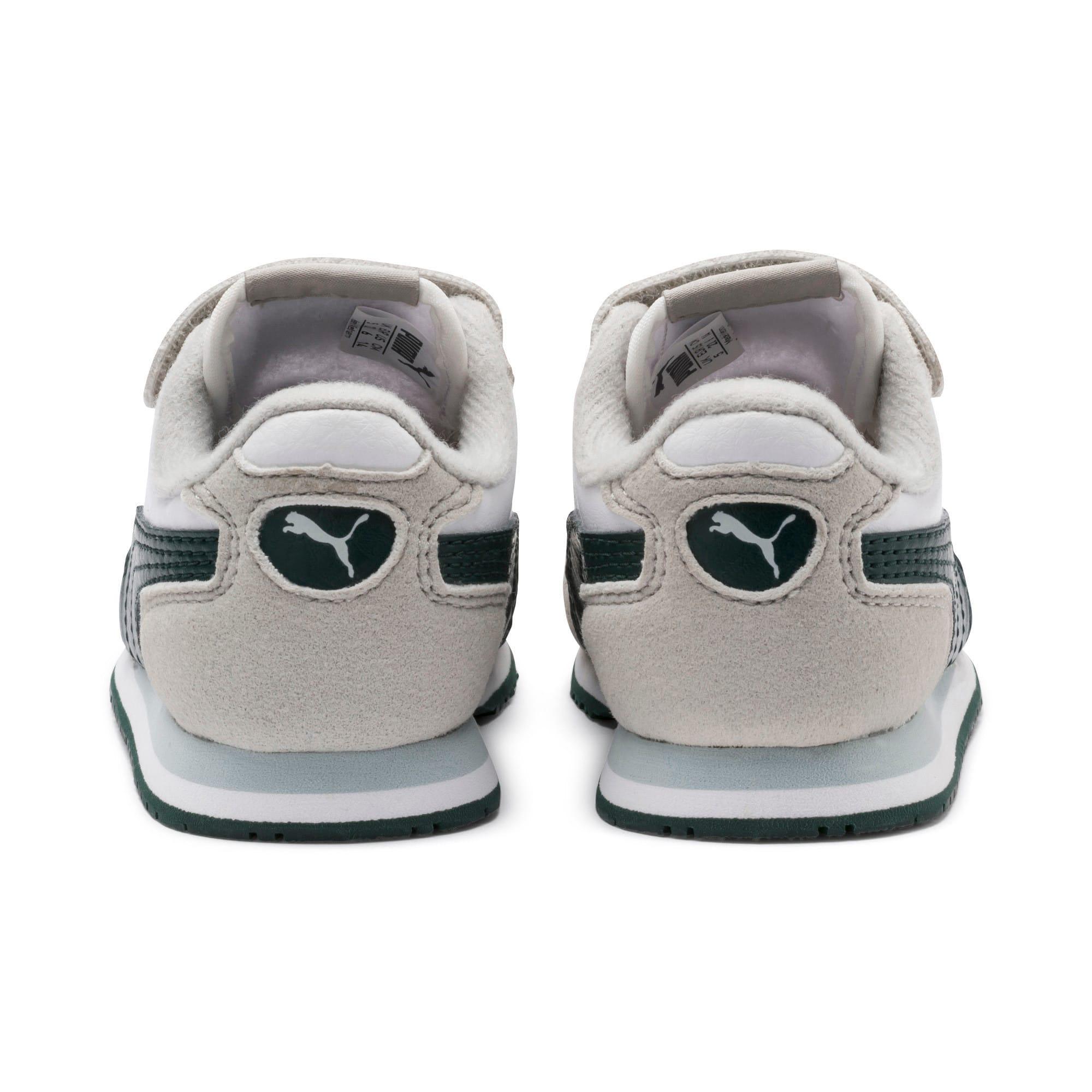 Thumbnail 3 of Cabana Racer SL Toddler Shoes, Puma White-Gray Violet, medium