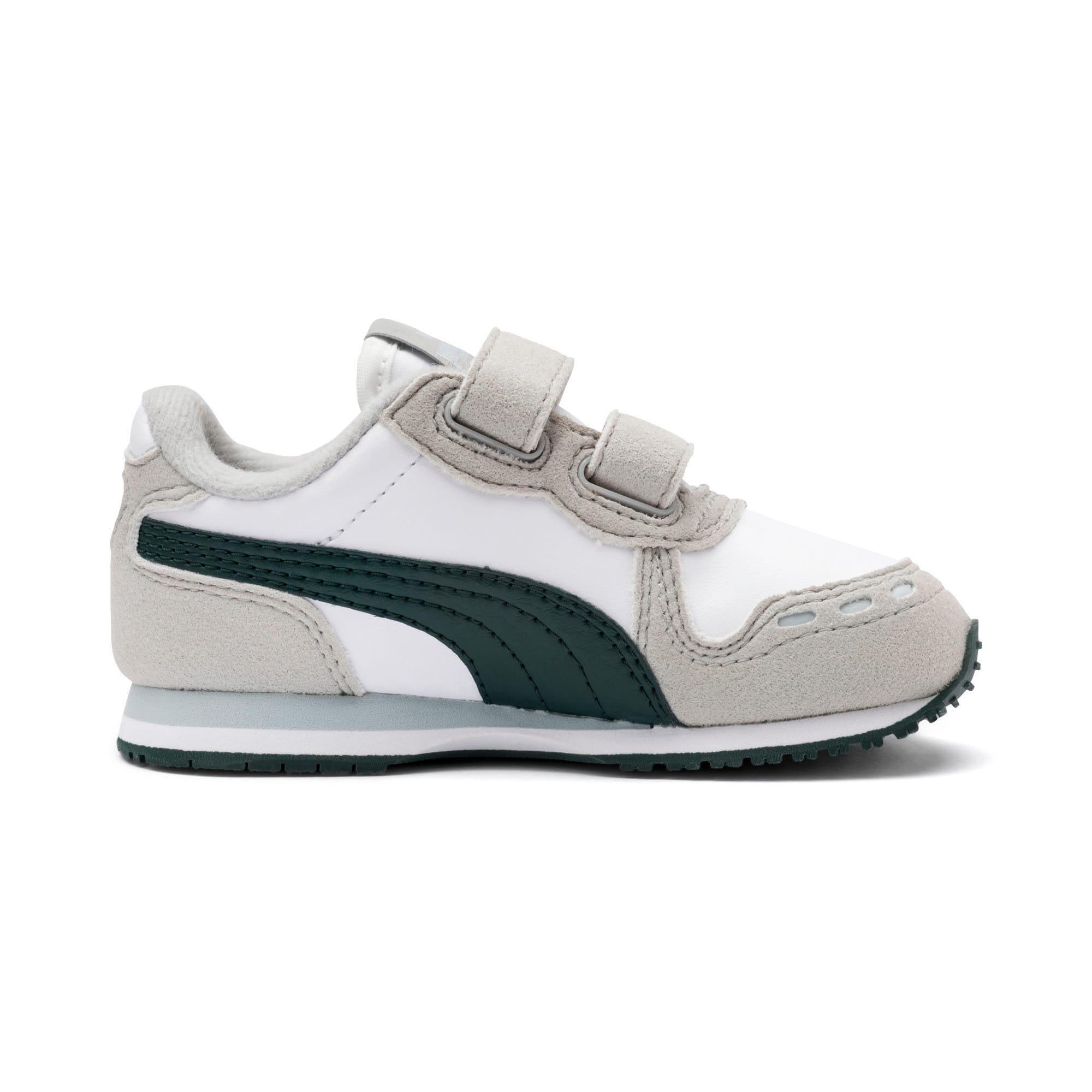 Thumbnail 5 of Cabana Racer SL Toddler Shoes, Puma White-Gray Violet, medium