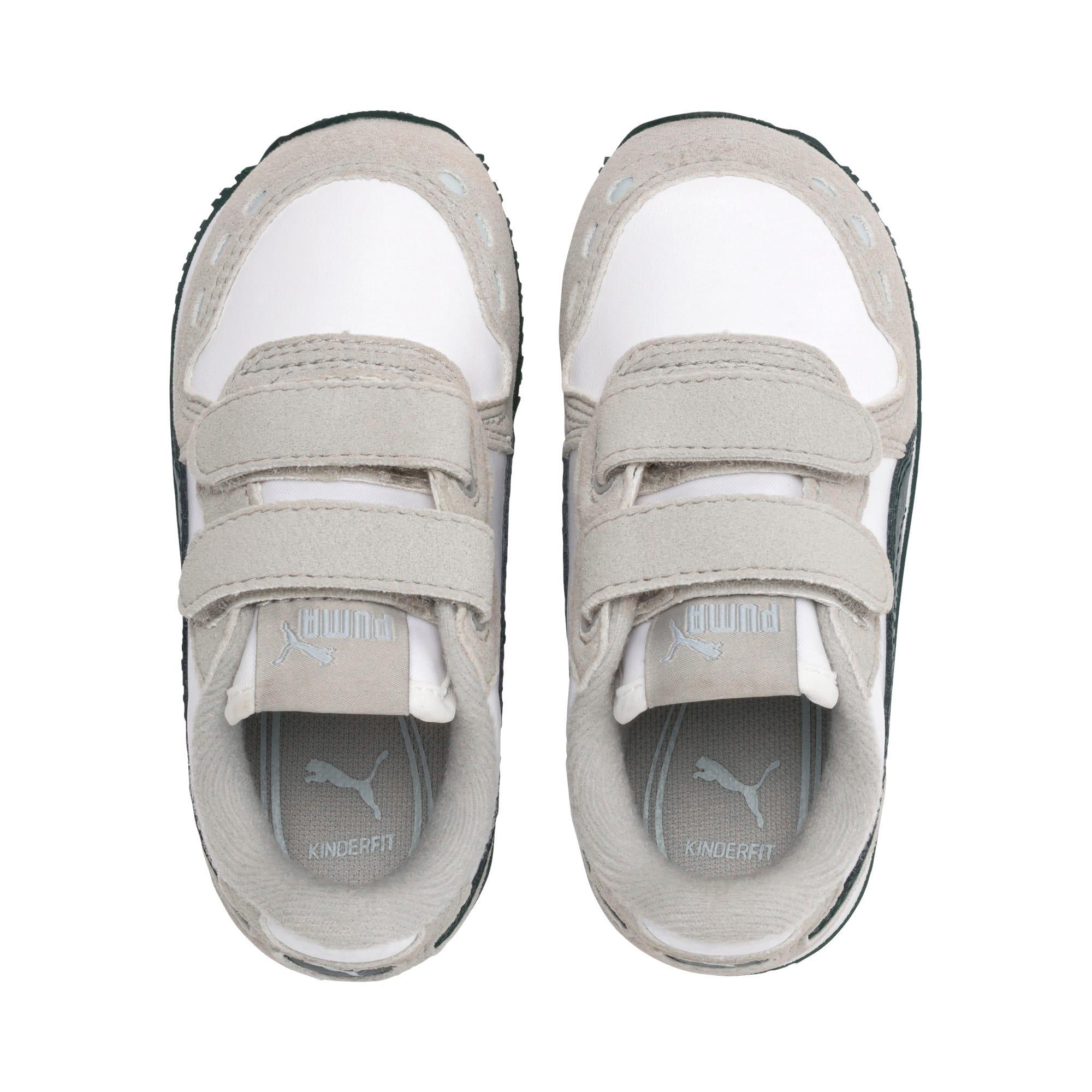 Thumbnail 6 of Cabana Racer SL Toddler Shoes, Puma White-Gray Violet, medium