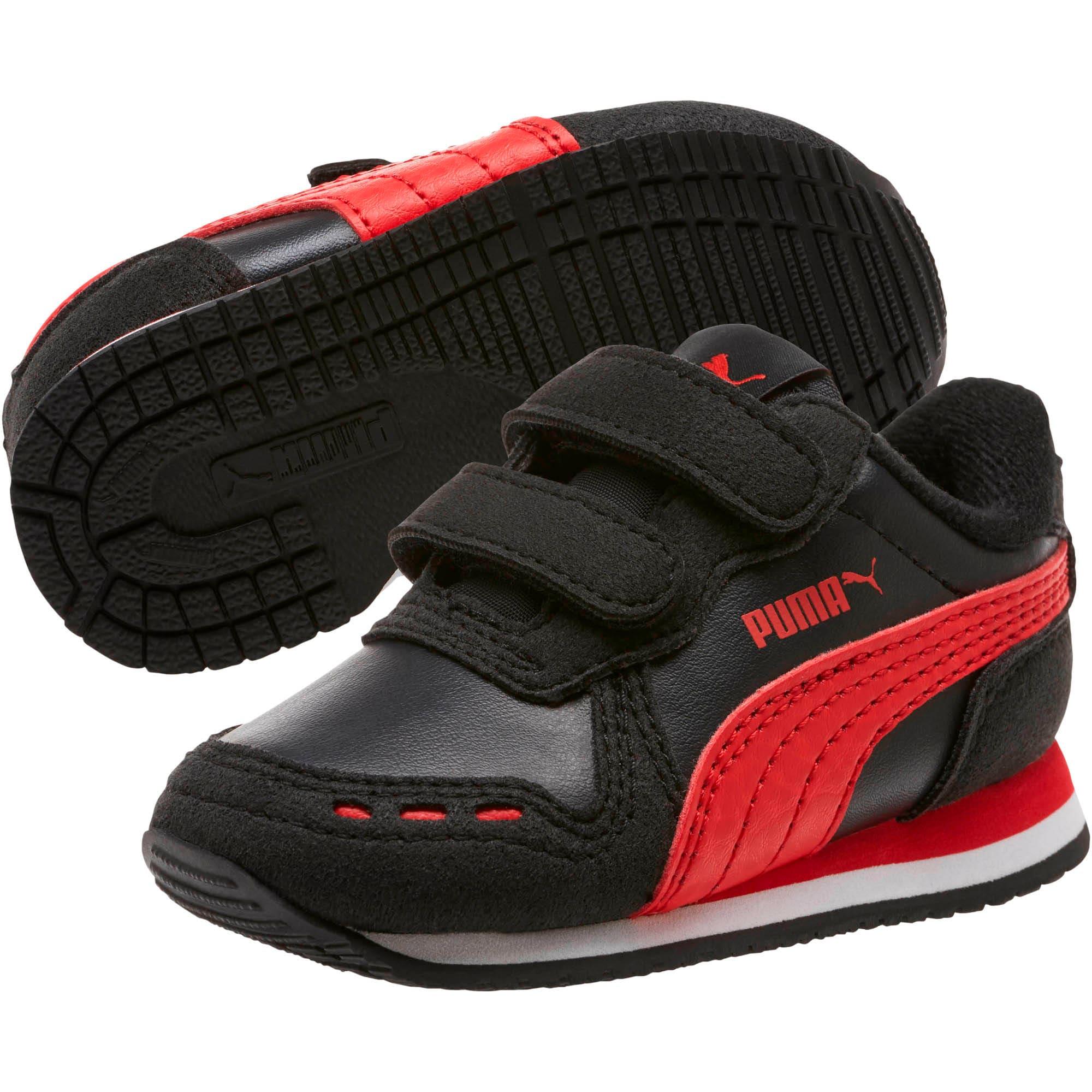 Thumbnail 2 of Cabana Racer SL Toddler Shoes, Puma Black-High Risk Red, medium