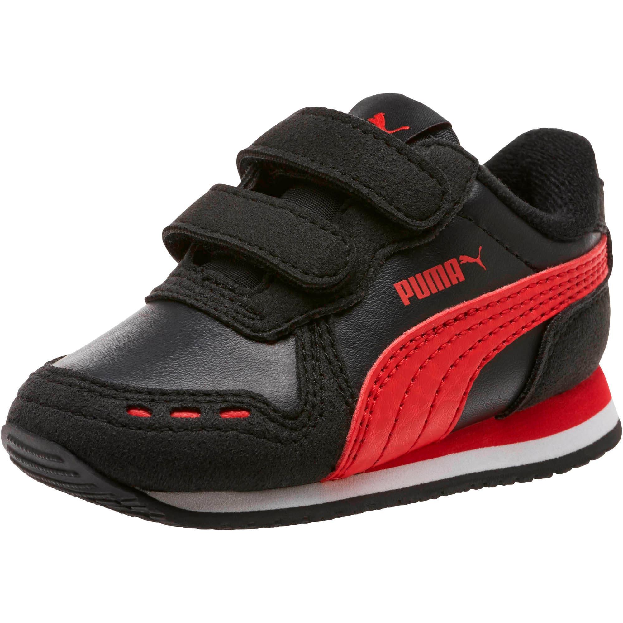 Thumbnail 1 of Cabana Racer SL Toddler Shoes, Puma Black-High Risk Red, medium