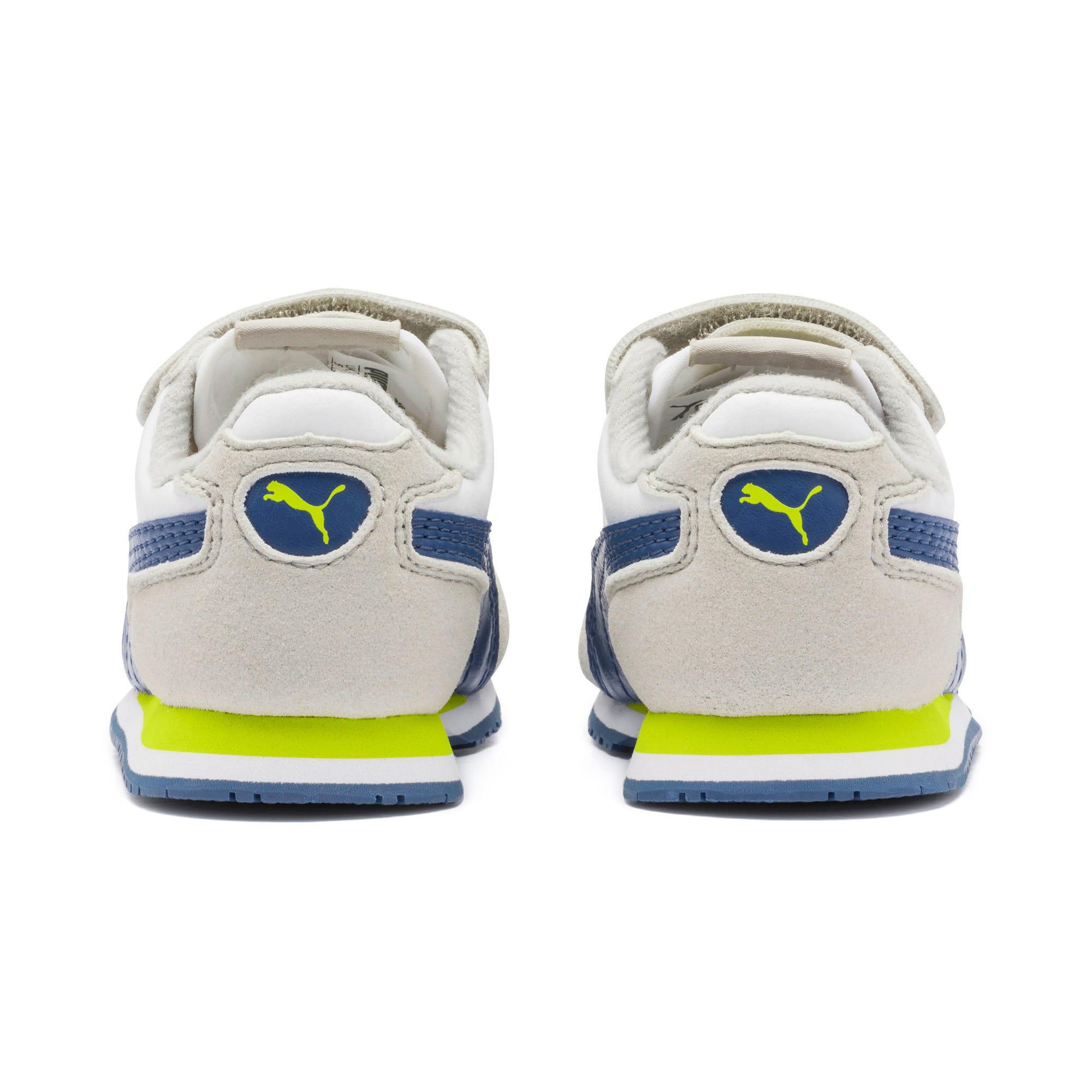 Thumbnail 3 of Cabana Racer SL Toddler Shoes, Puma White-Galaxy Blue, medium