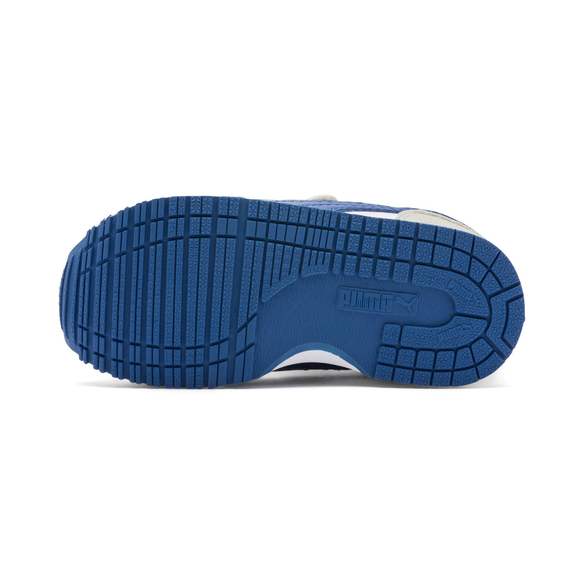 Thumbnail 4 of Cabana Racer SL Toddler Shoes, Puma White-Galaxy Blue, medium