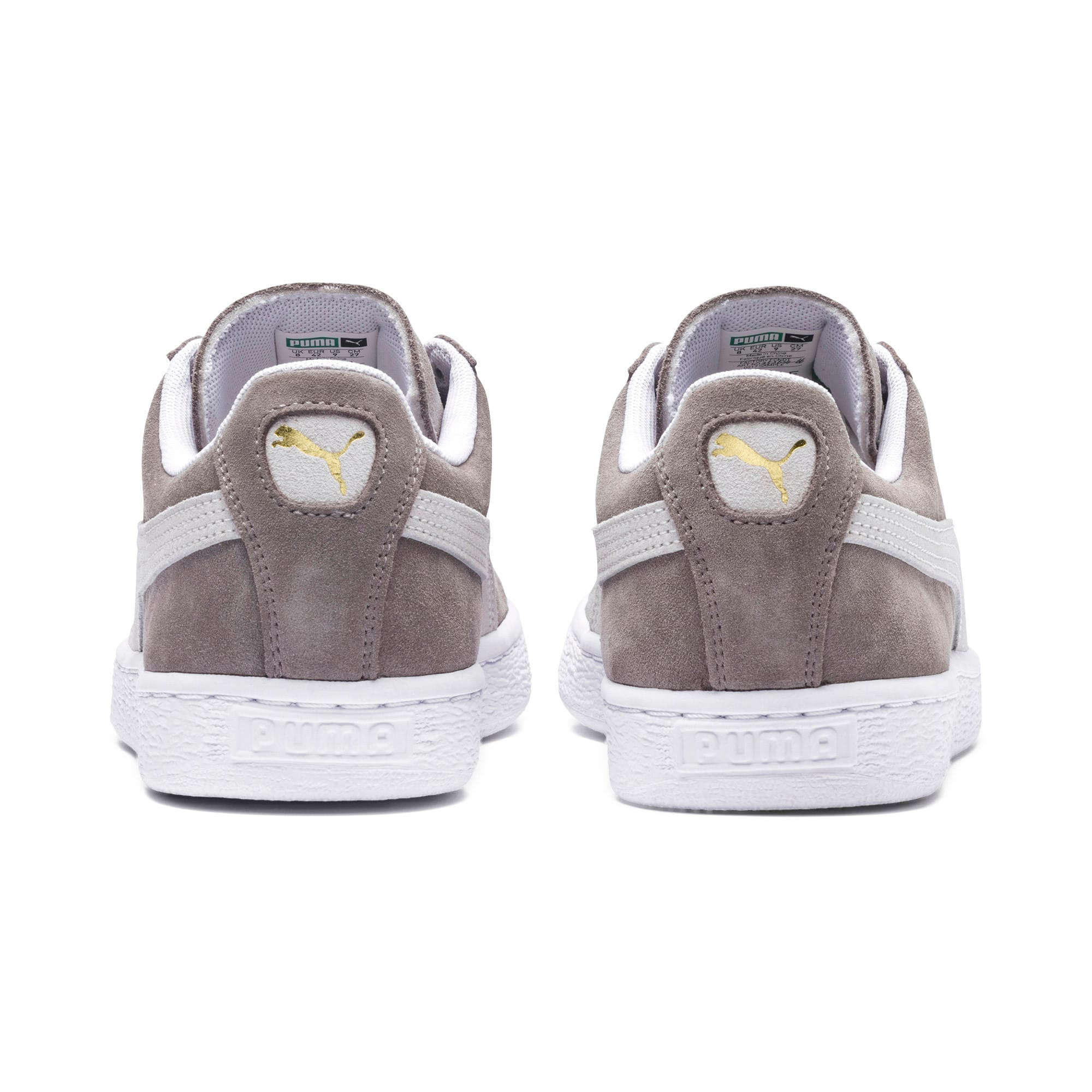 Thumbnail 3 of Suede Classic+ Men's Trainers, steeple gray-white, medium