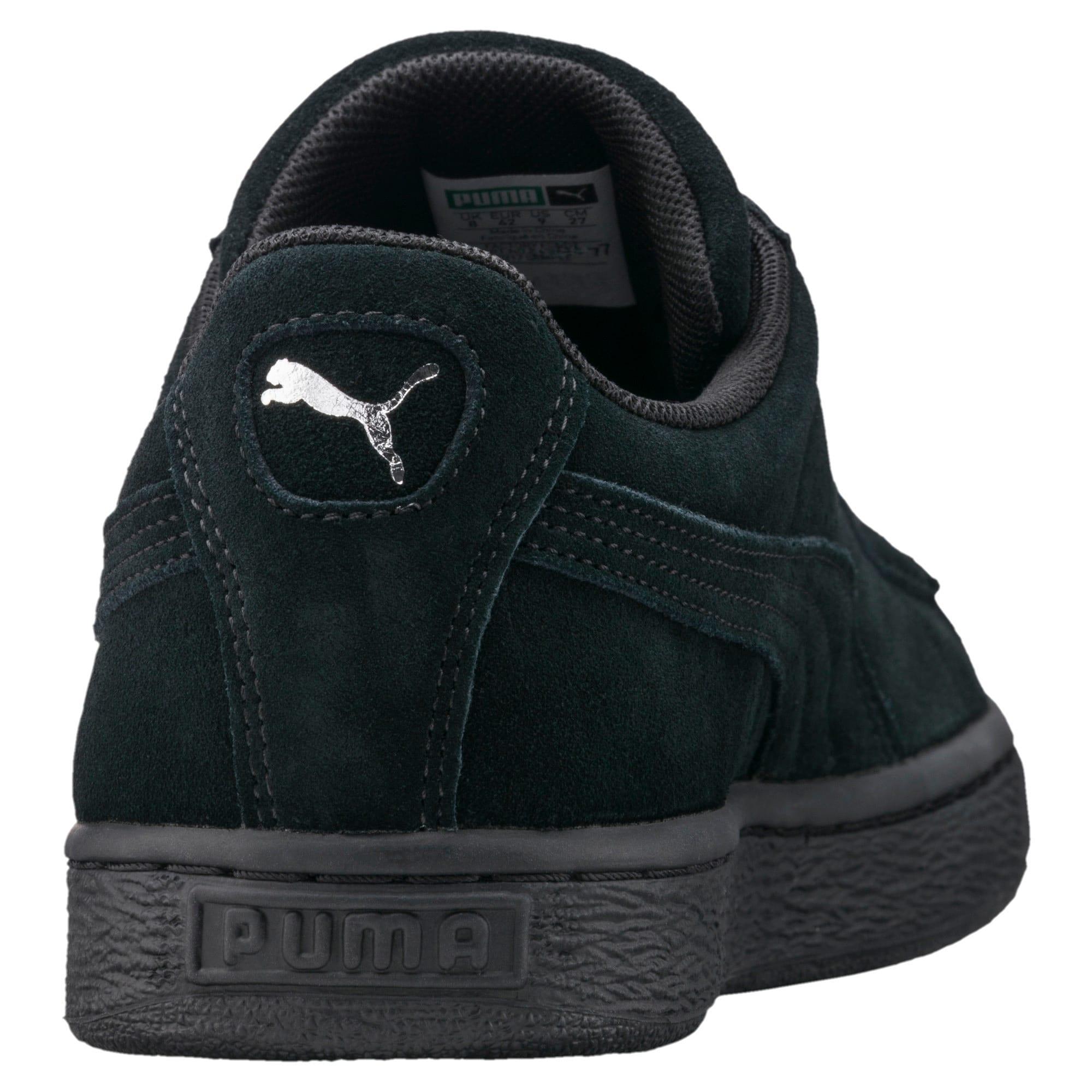Thumbnail 3 van Suede Classic+ sneakers voor mannen, black-dark shadow, medium