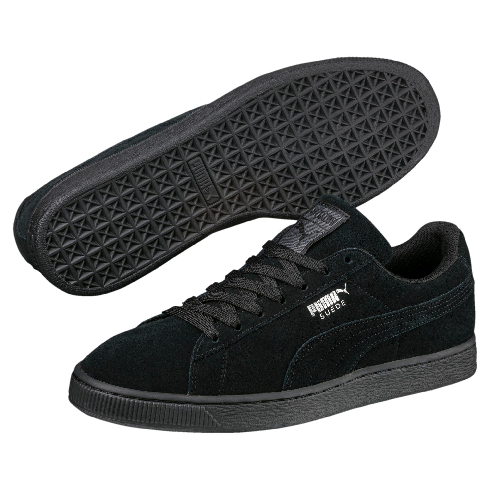 Thumbnail 2 van Suede Classic+ sneakers voor mannen, black-dark shadow, medium