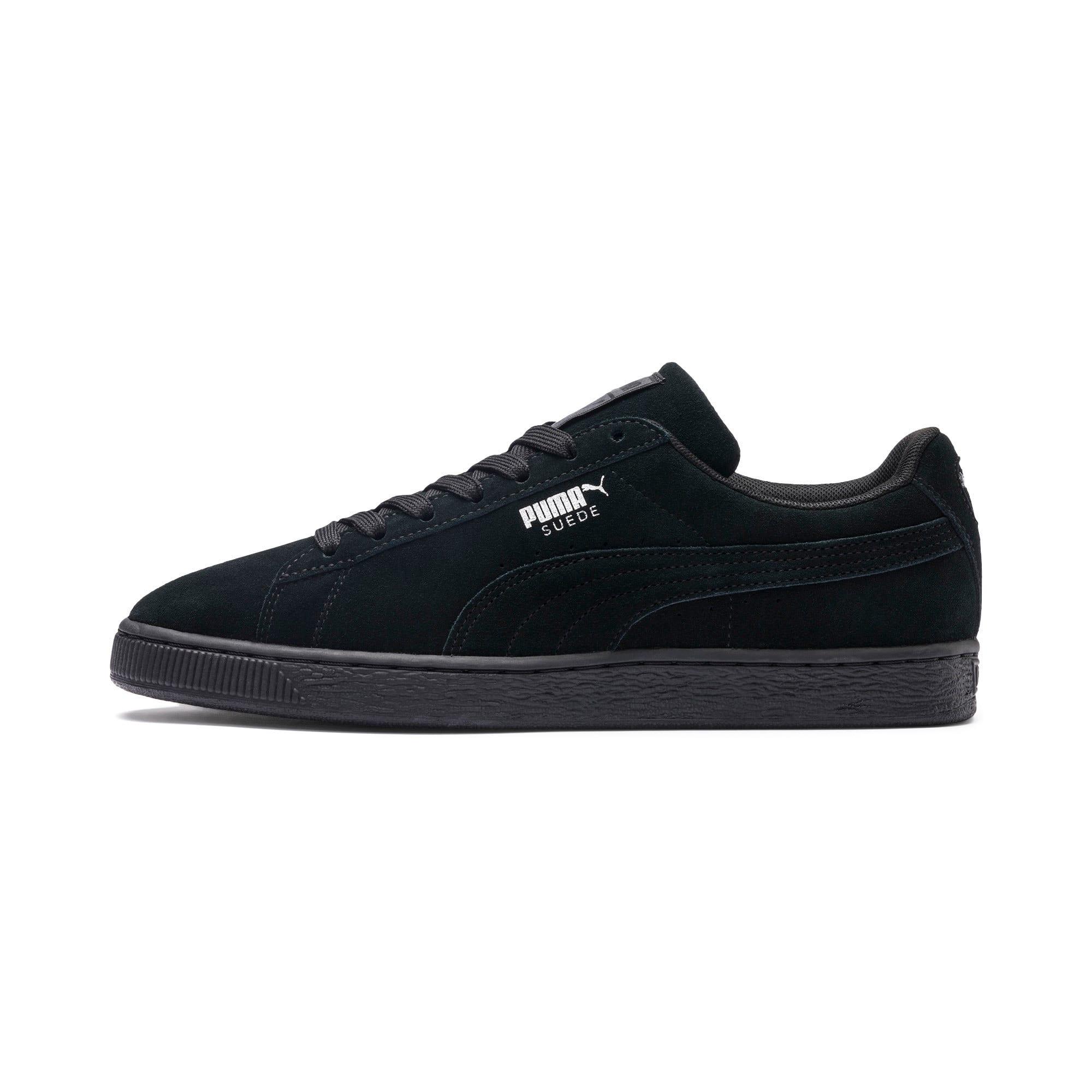 Thumbnail 1 van Suede Classic+ sneakers voor mannen, black-dark shadow, medium