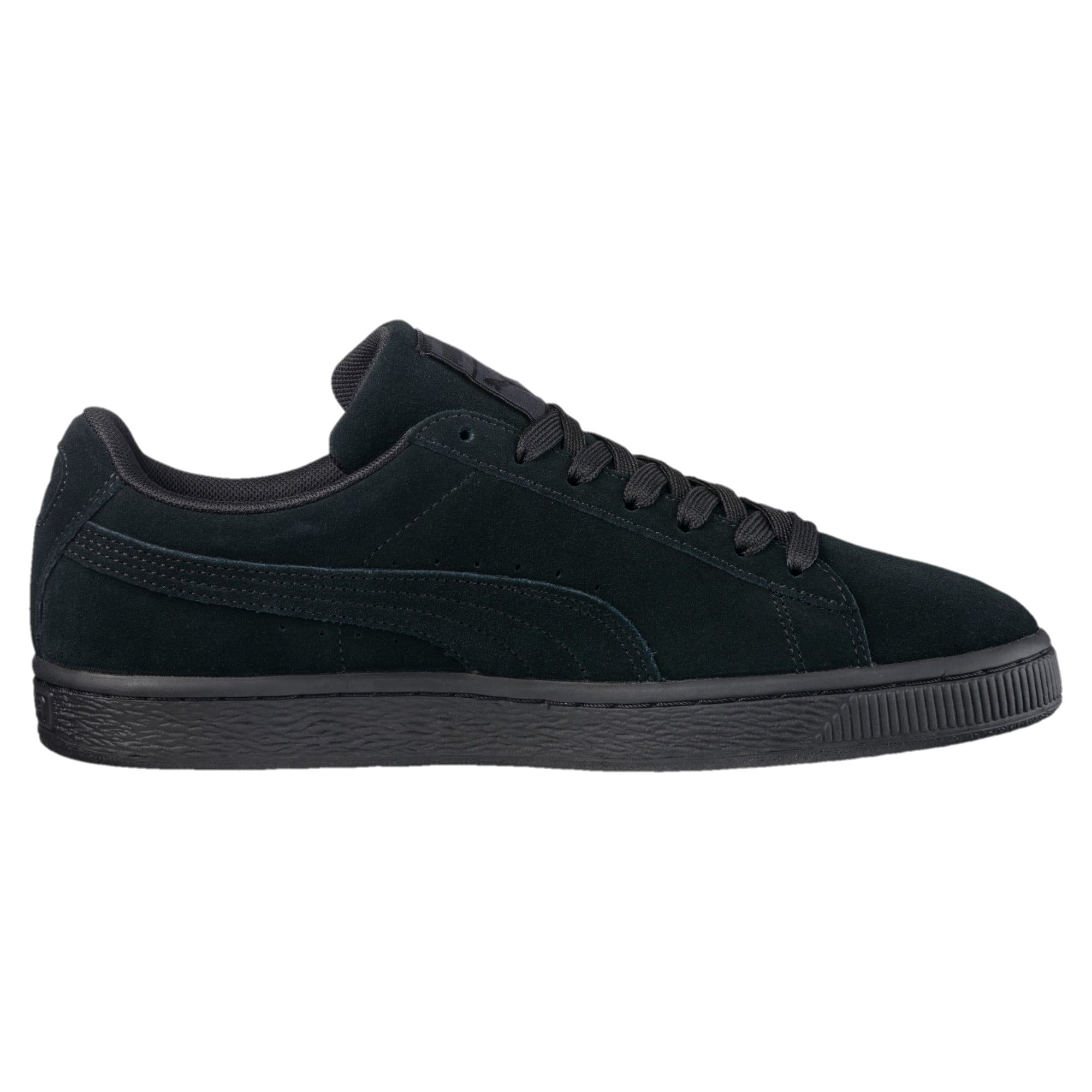 Thumbnail 4 van Suede Classic+ sneakers voor mannen, black-dark shadow, medium