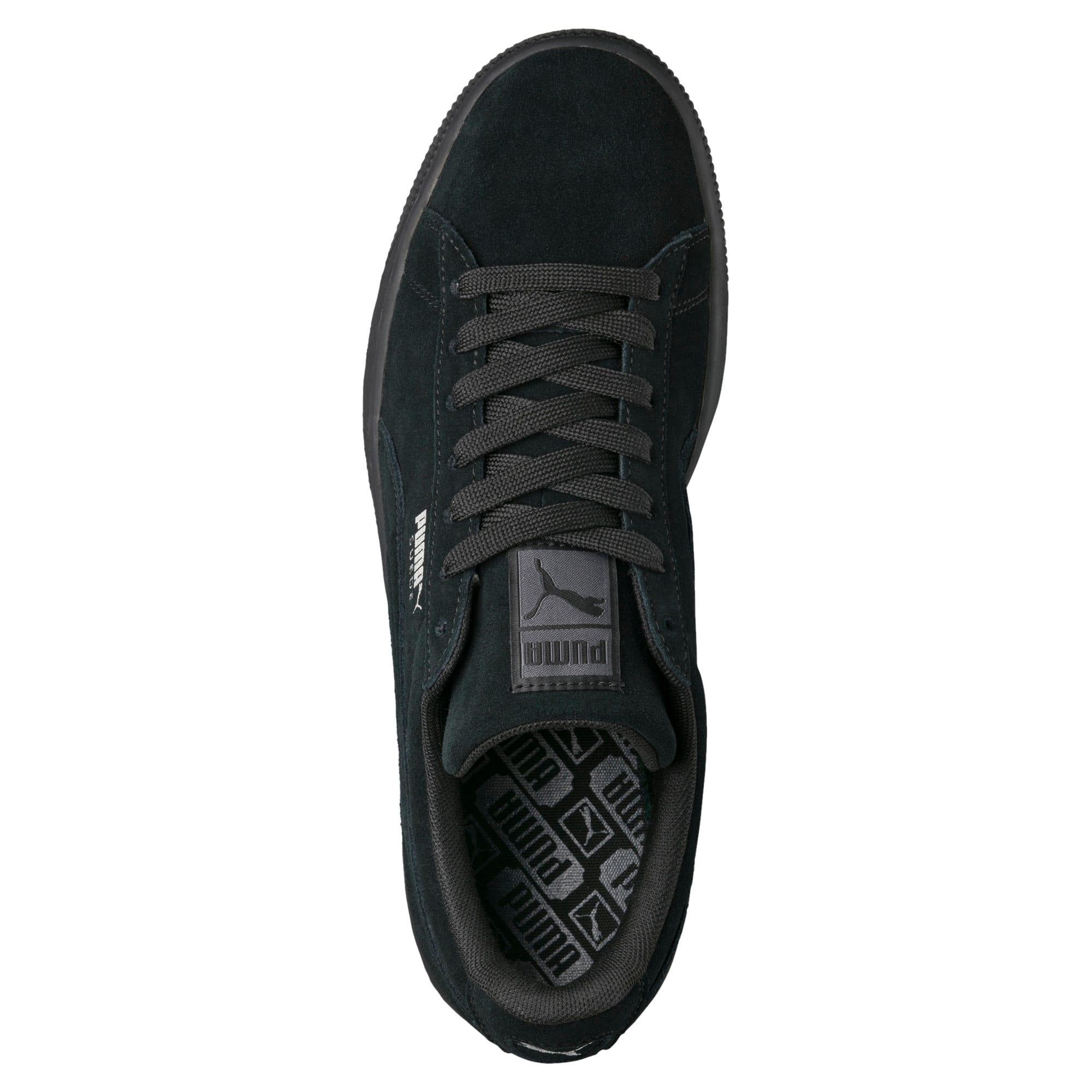 Thumbnail 5 van Suede Classic+ sneakers voor mannen, black-dark shadow, medium