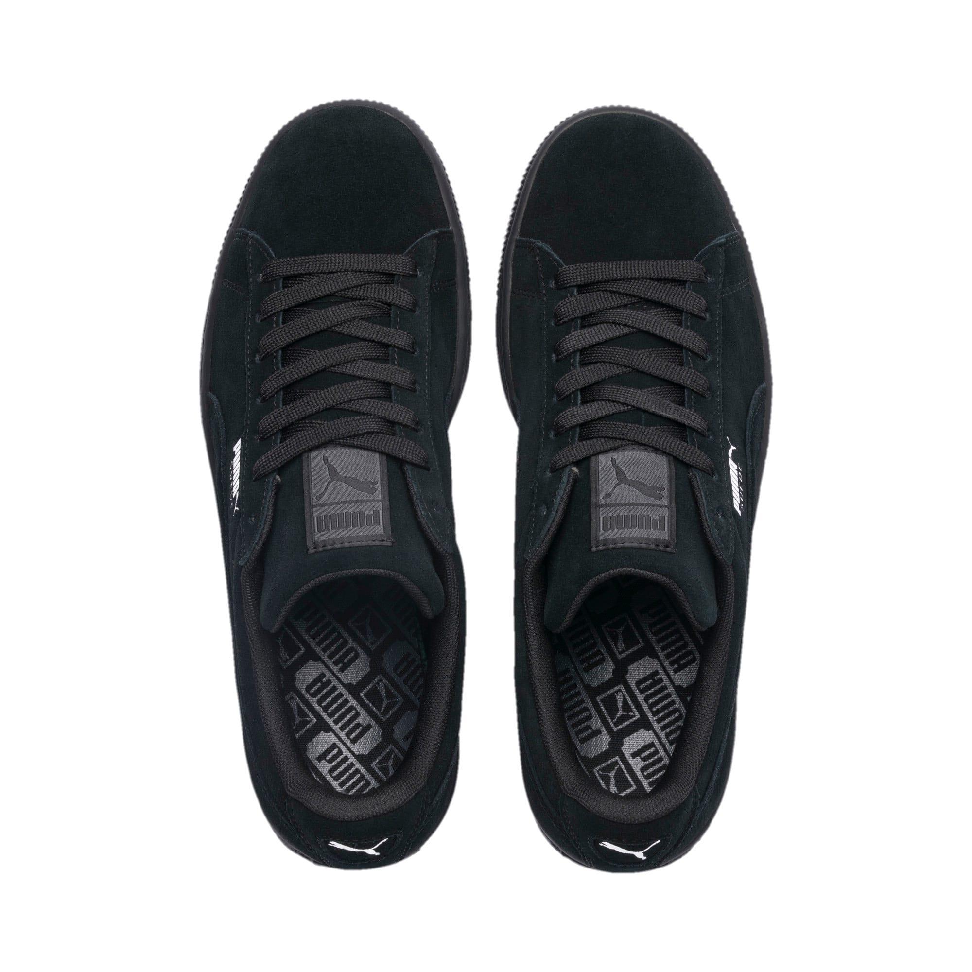 Thumbnail 6 van Suede Classic+ sneakers voor mannen, black-dark shadow, medium