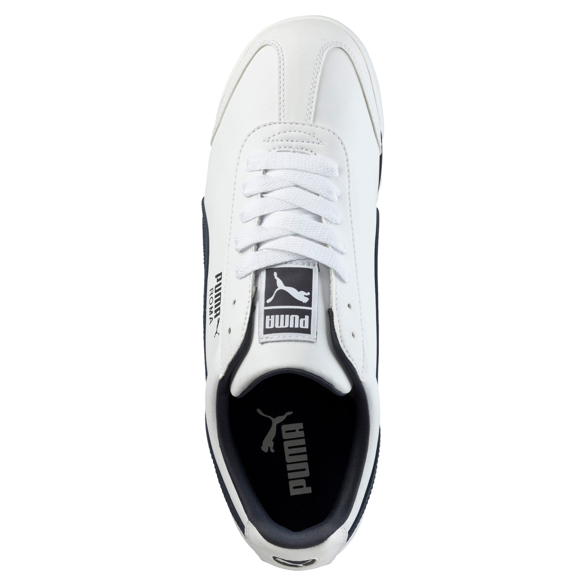 Thumbnail 5 of Roma Basic Men's Sneakers, white-new navy, medium