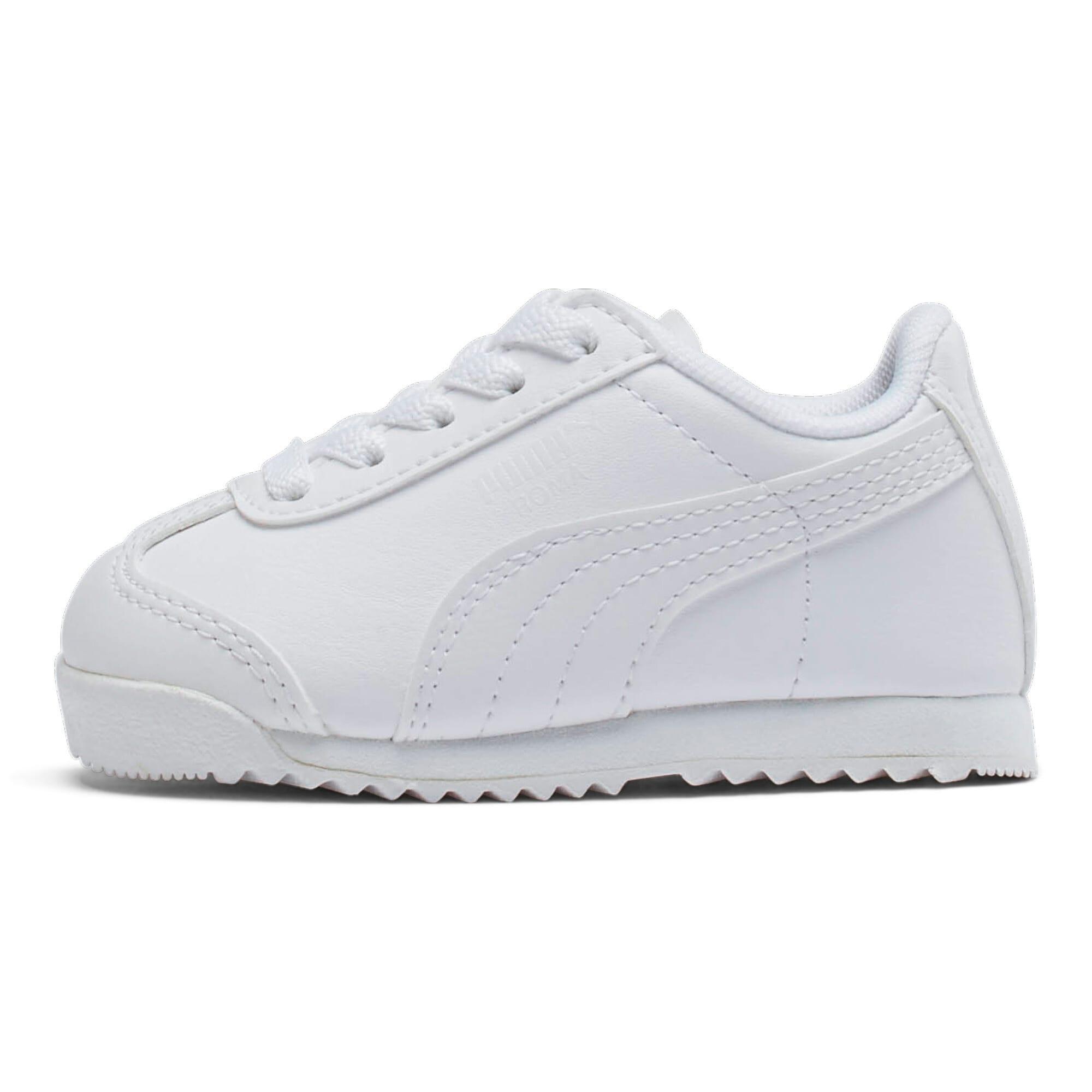 Thumbnail 1 of Roma Basic Toddler Shoes, white-light gray, medium