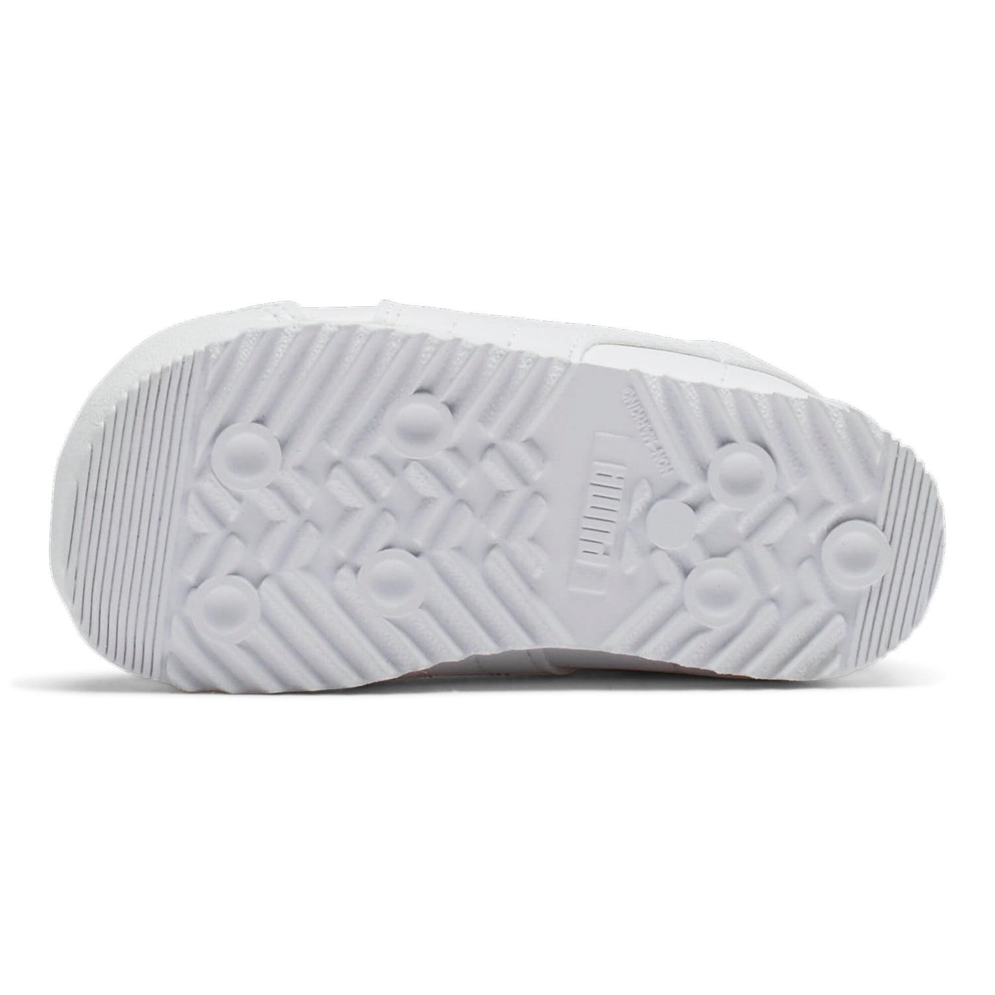 Thumbnail 4 of Roma Basic Toddler Shoes, white-light gray, medium