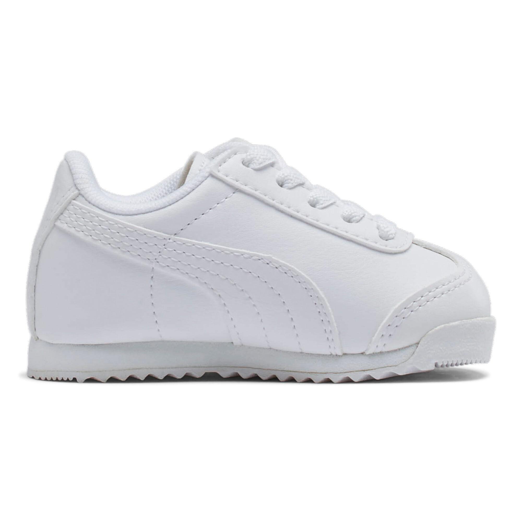 Thumbnail 5 of Roma Basic Toddler Shoes, white-light gray, medium