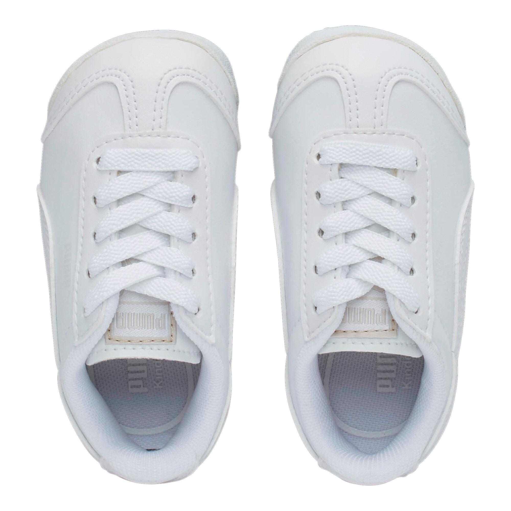 Thumbnail 6 of Roma Basic Toddler Shoes, white-light gray, medium