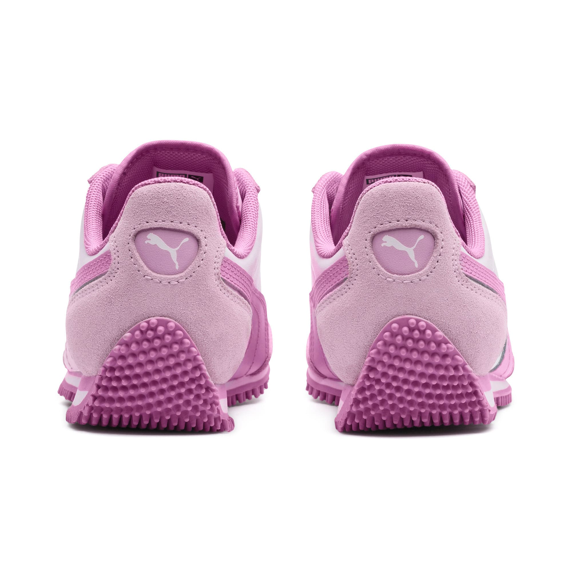 Thumbnail 3 of Kid's Whirlwind Trainers, Puma White-Winsome Orchid, medium-IND