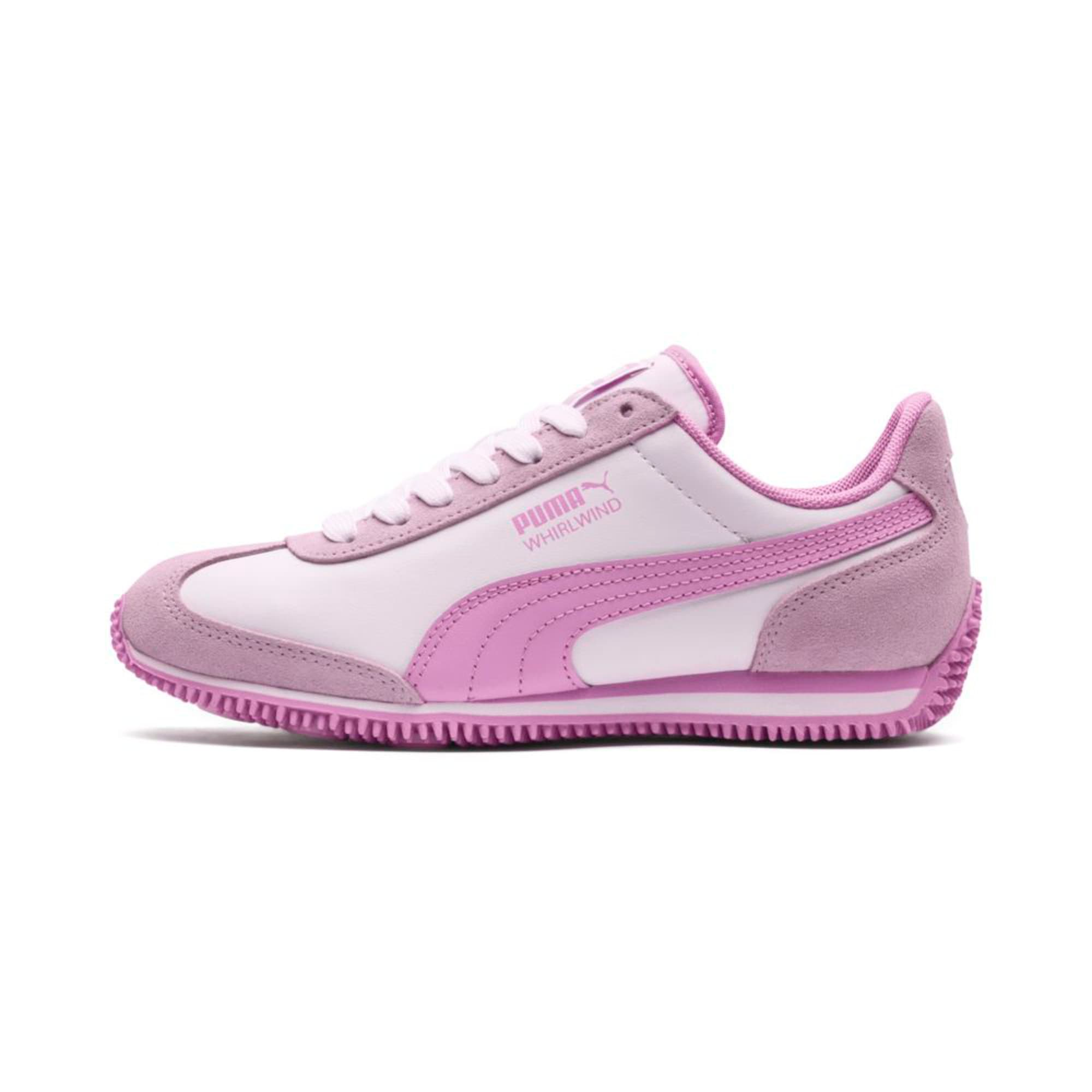 Thumbnail 1 of Kid's Whirlwind Trainers, Puma White-Winsome Orchid, medium-IND