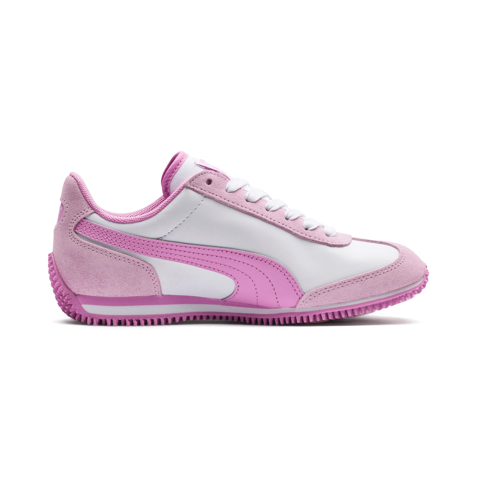 Thumbnail 5 of Kid's Whirlwind Trainers, Puma White-Winsome Orchid, medium-IND