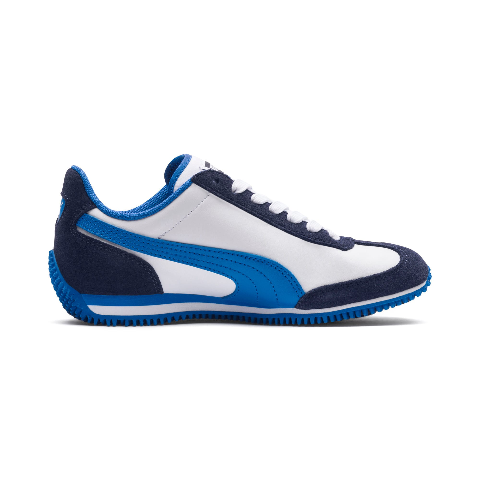 Thumbnail 5 of Kid's Whirlwind Trainers, White-Peacoat-Strong Blue, medium-IND