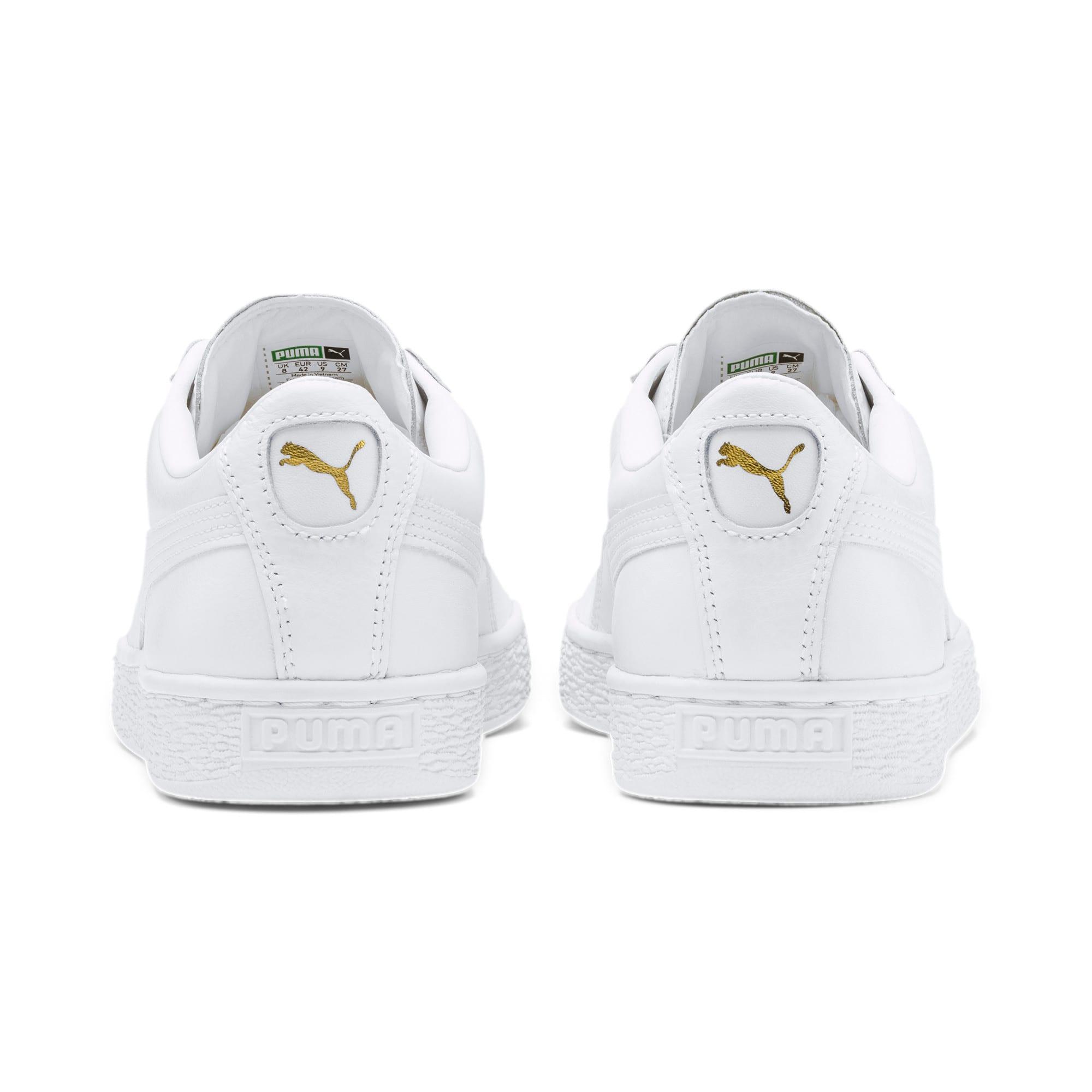 Thumbnail 8 of Basket Classic LFS schoenen voor heren, white-white, medium