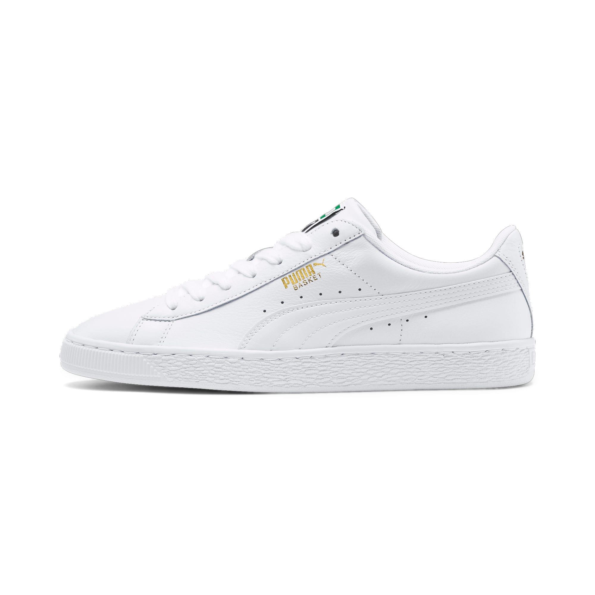 Thumbnail 1 of Basket Classic LFS schoenen voor heren, white-white, medium