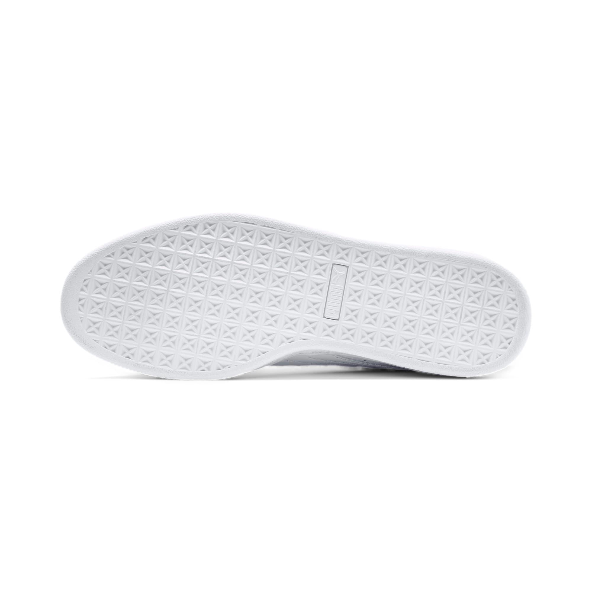 Thumbnail 4 of Basket Classic LFS schoenen voor heren, white-white, medium