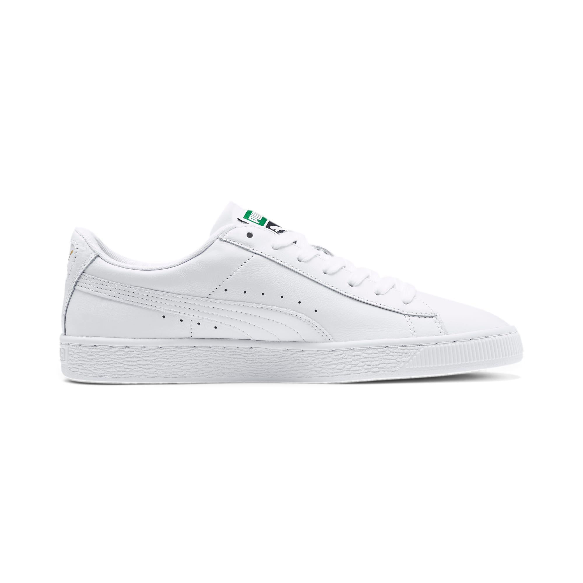 Thumbnail 5 of Basket Classic LFS schoenen voor heren, white-white, medium