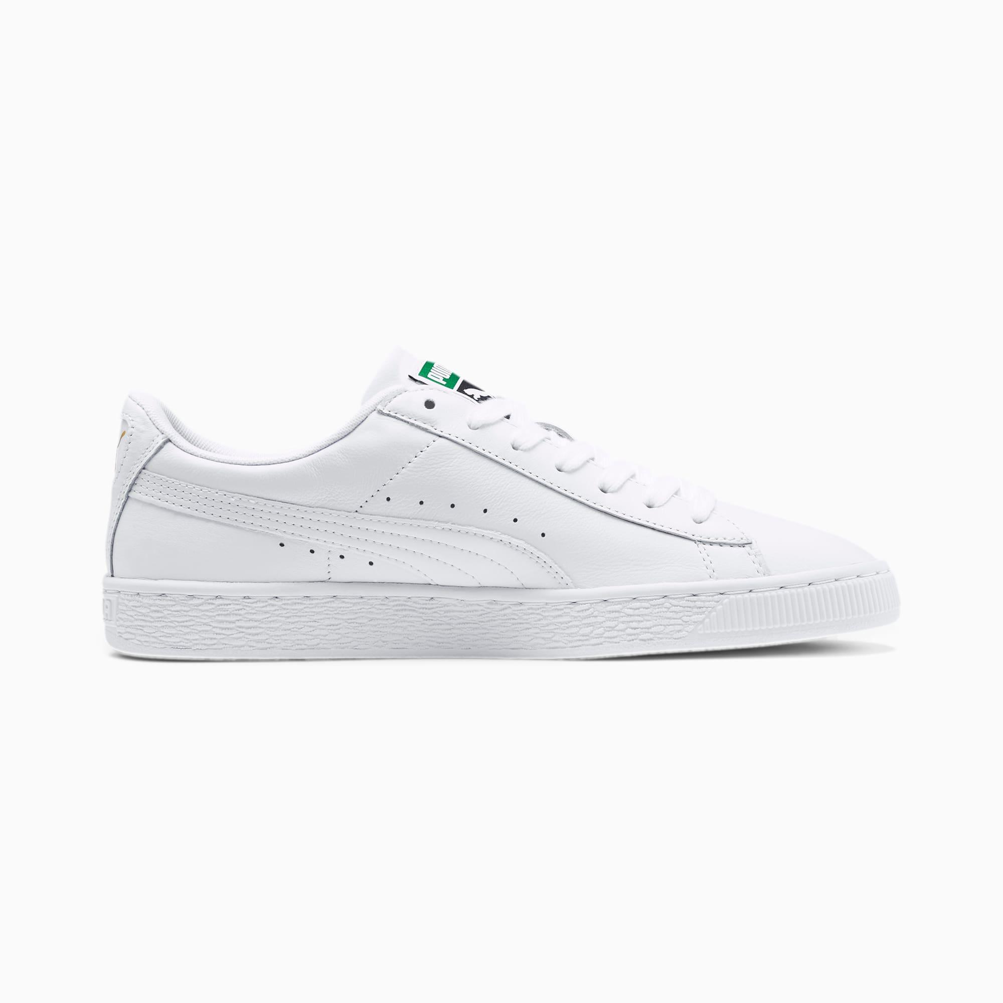 Puma Basket Classic Lfs Shoe White White | SurfStitch