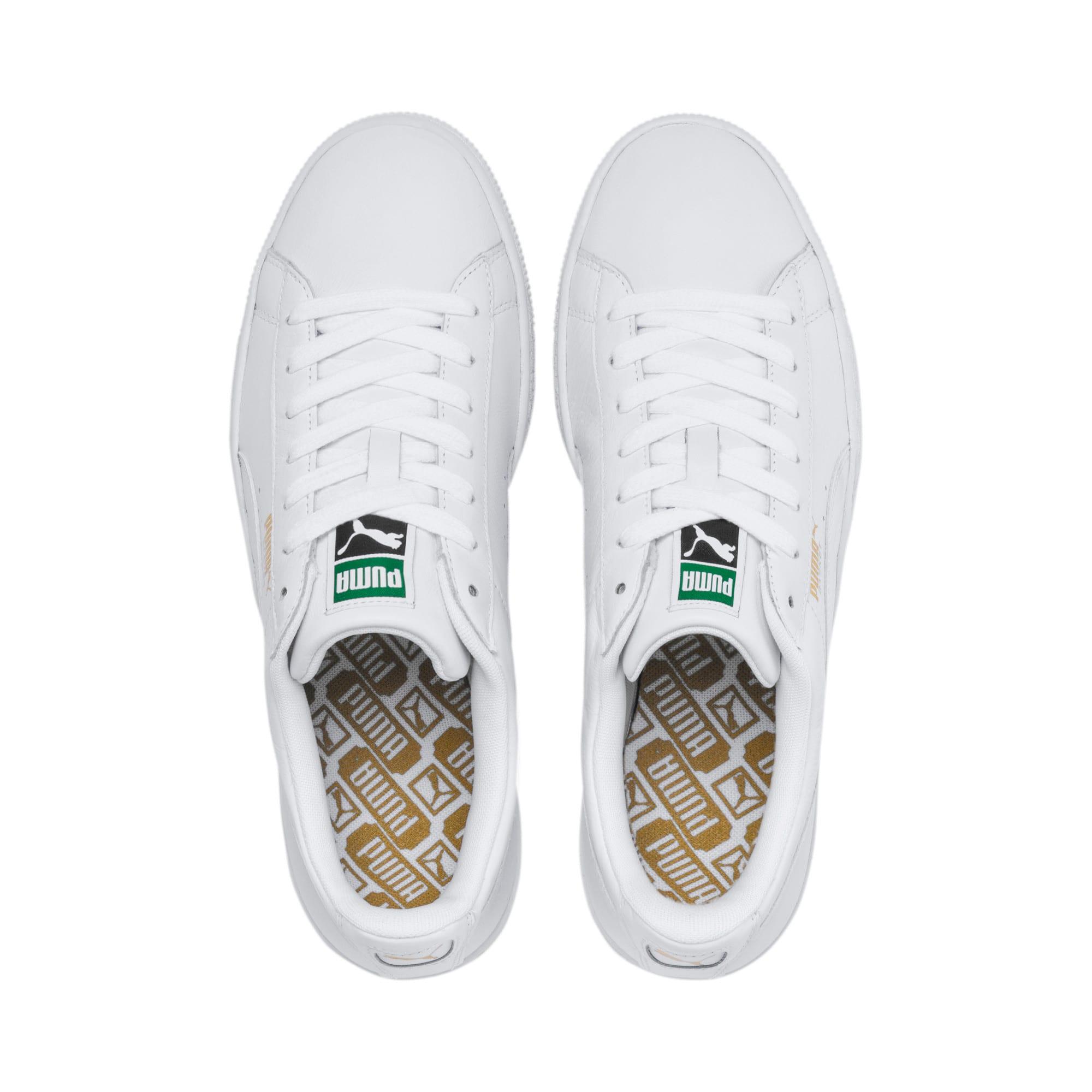 Thumbnail 6 of Basket Classic LFS schoenen voor heren, white-white, medium