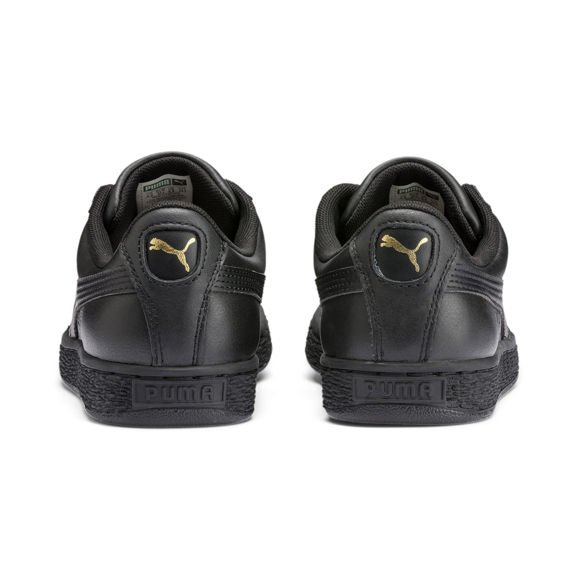 Thumbnail 3 of Basket Classic LFS Men's Shoes, black-team gold, medium