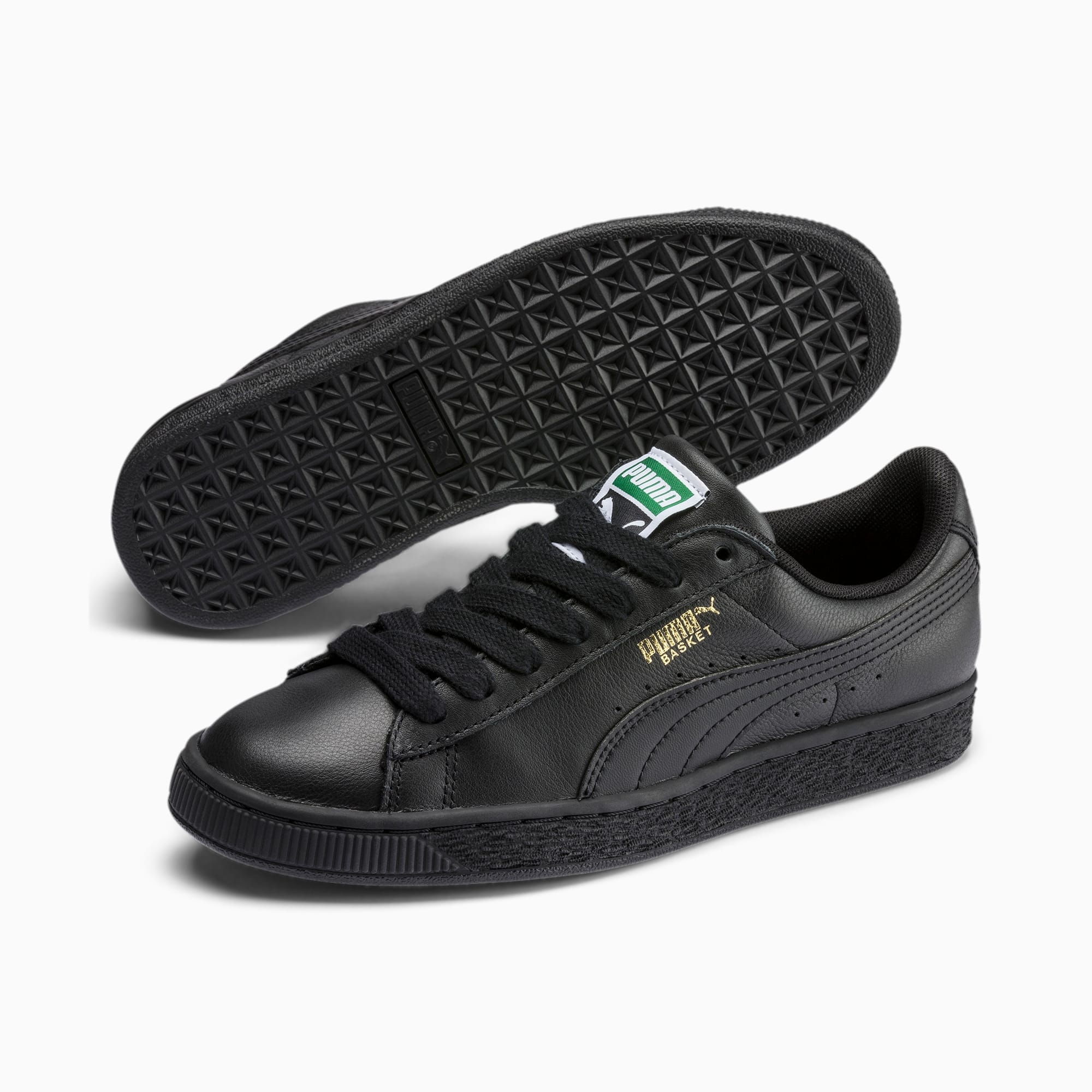 Sneakersy PUMA Basket Classic Lfs 354367 19 BlackTeam Gold