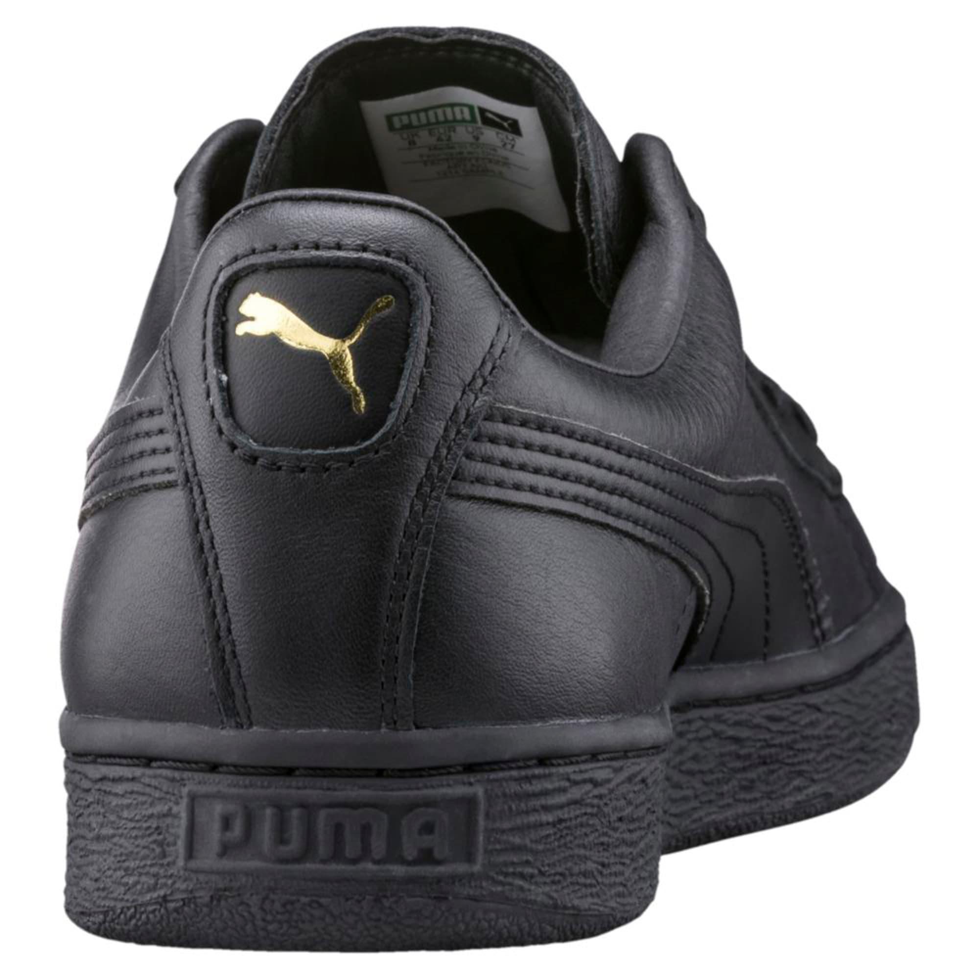 Thumbnail 4 of Basket Classic LFS Men's Shoes, black-team gold, medium-IND