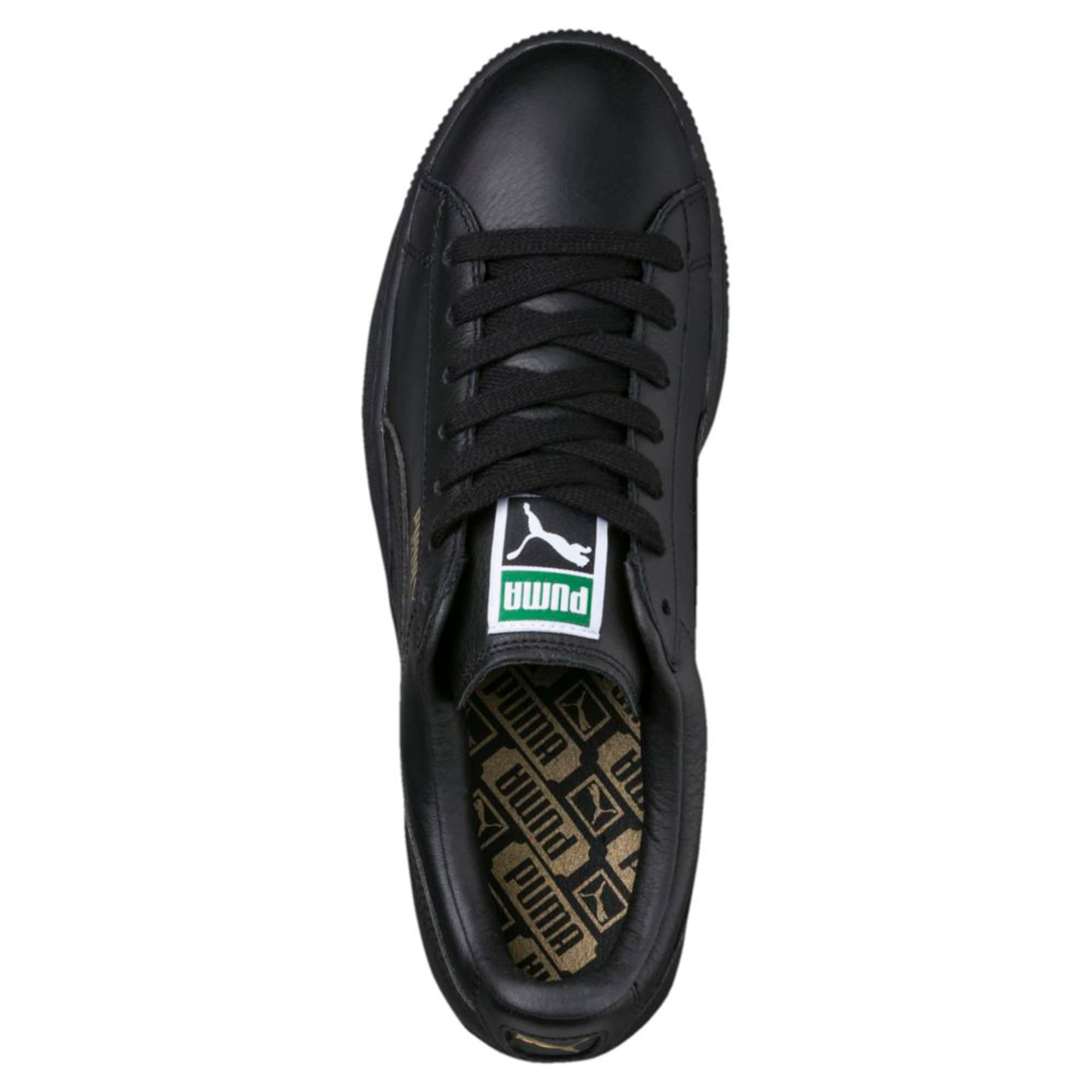 Thumbnail 5 of Basket Classic LFS Men's Shoes, black-team gold, medium-IND