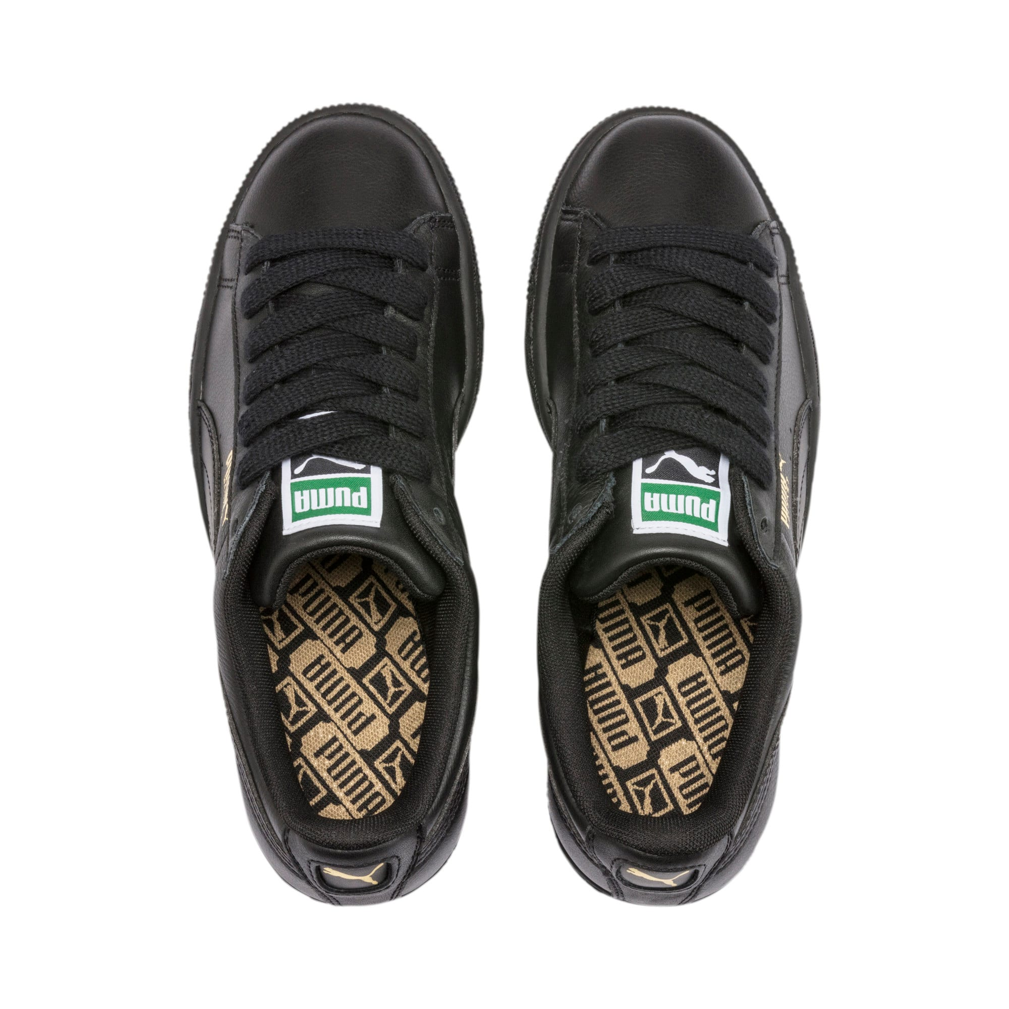 Thumbnail 6 of Basket Classic LFS Men's Shoes, black-team gold, medium