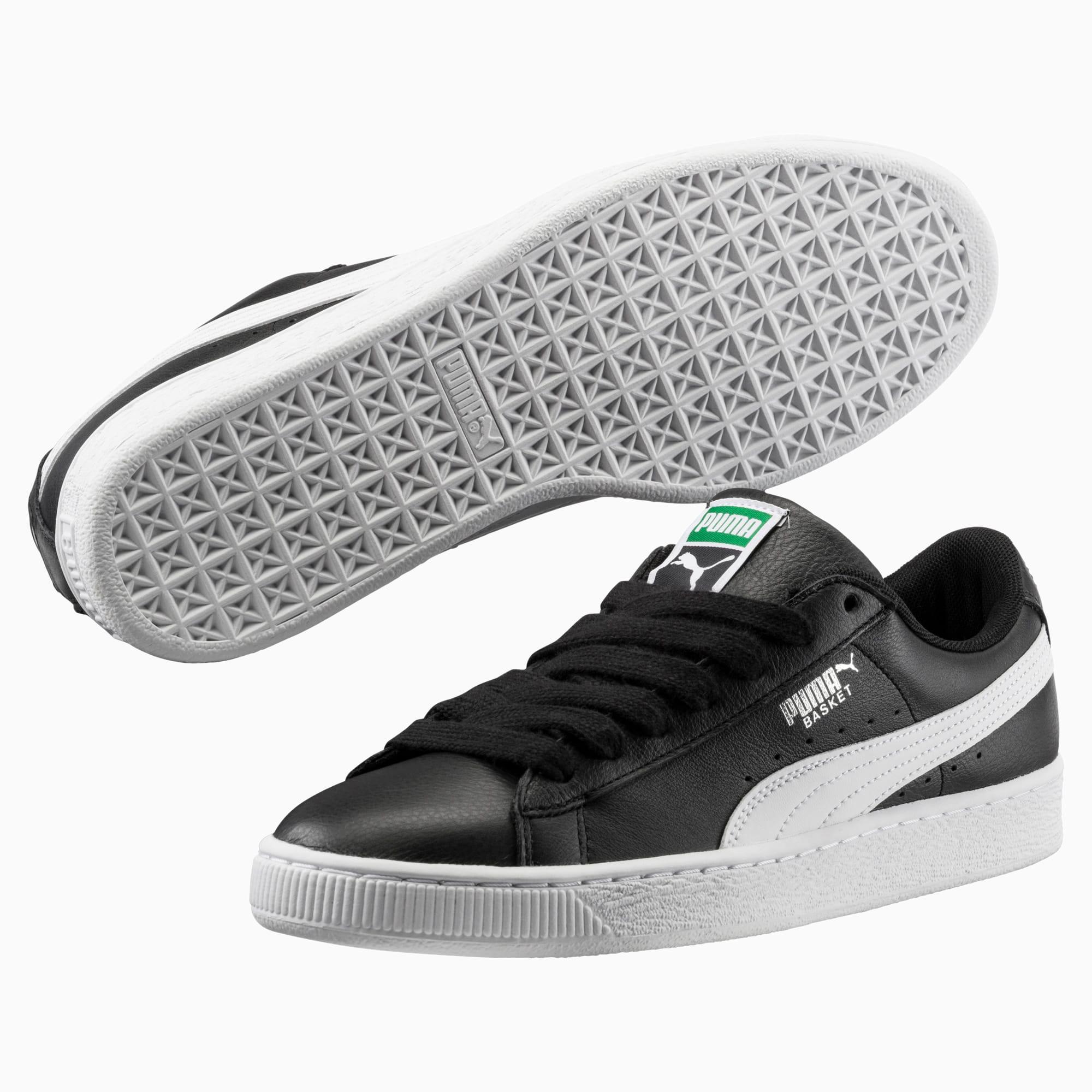 Heritage Basket Classic Sneaker | black white | PUMA COTY