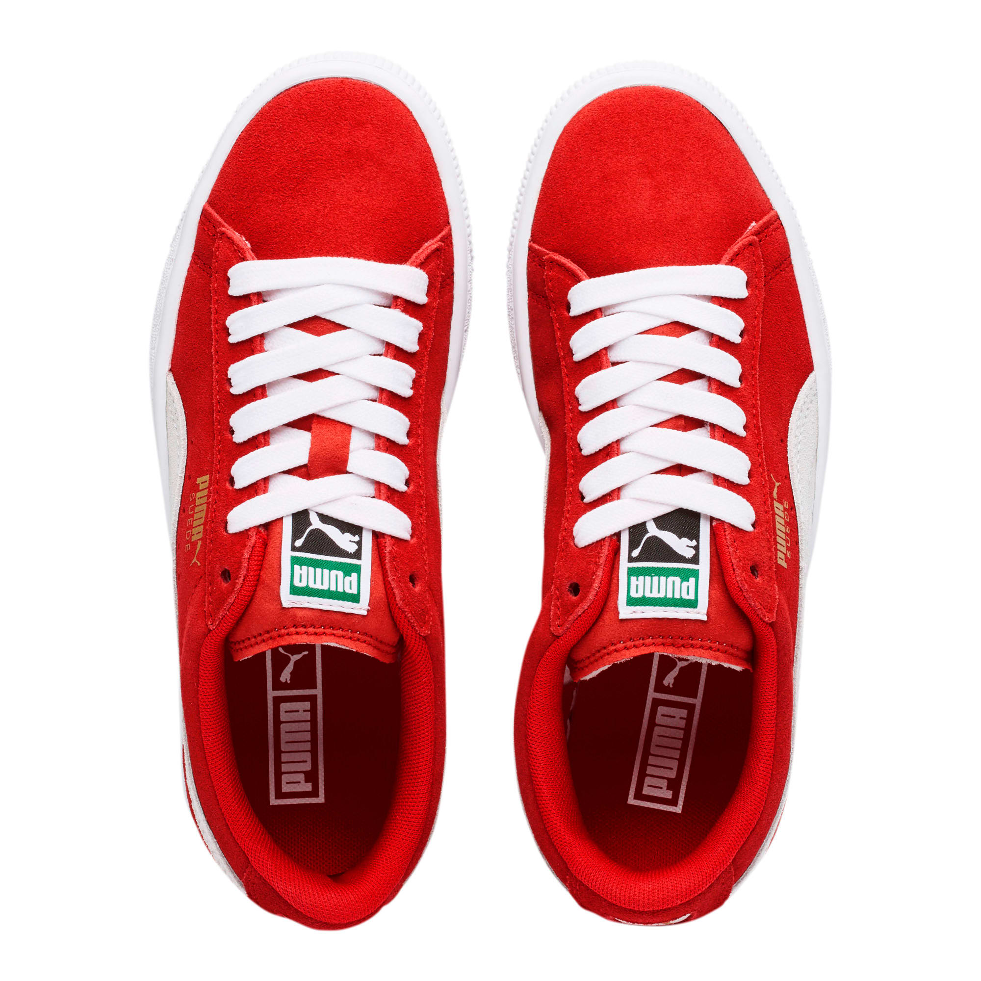 Thumbnail 6 of Suede Sneakers JR, high risk red-white, medium