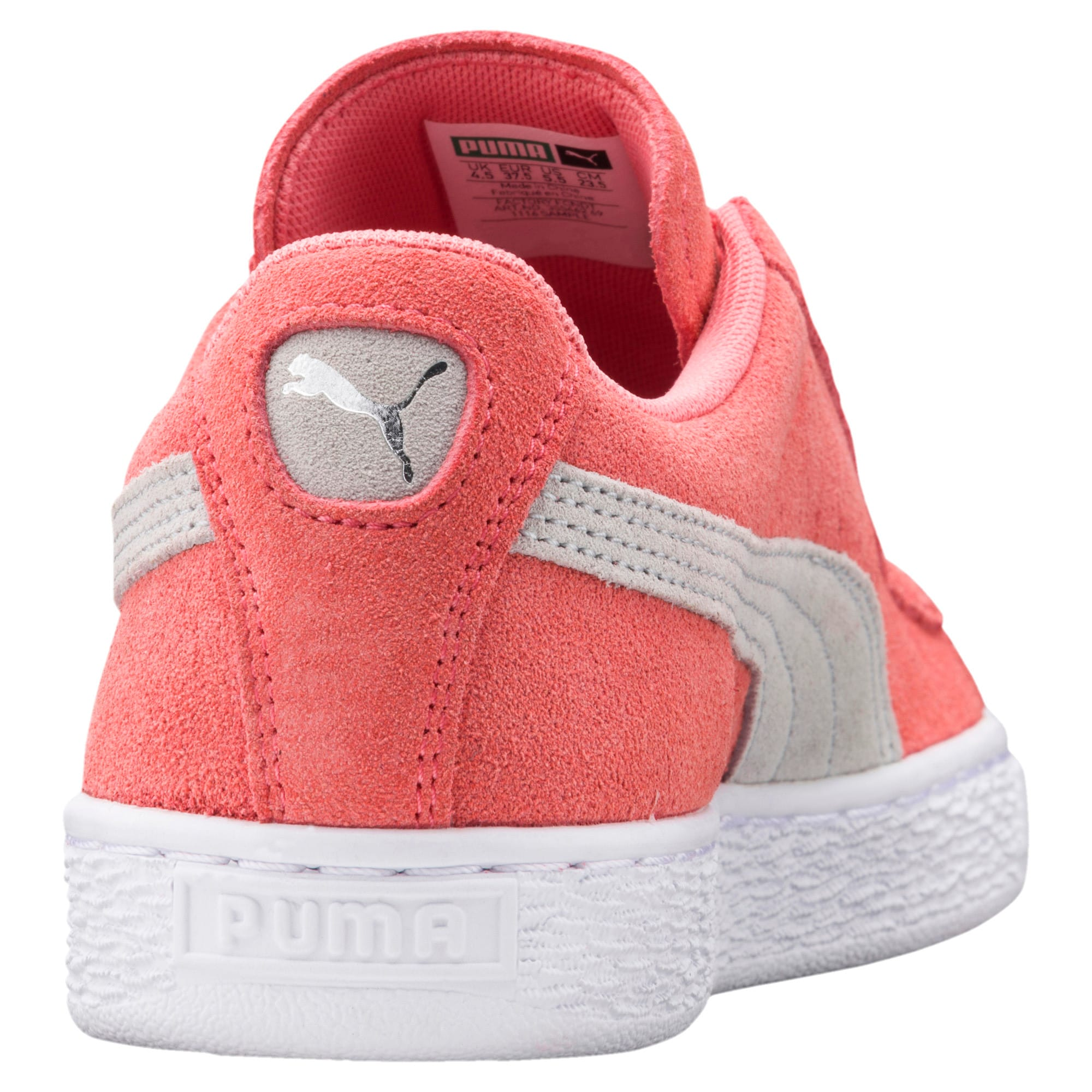 Thumbnail 4 of Suede Classic Women's Sneakers, Shell Pink-Glacier Gray, medium