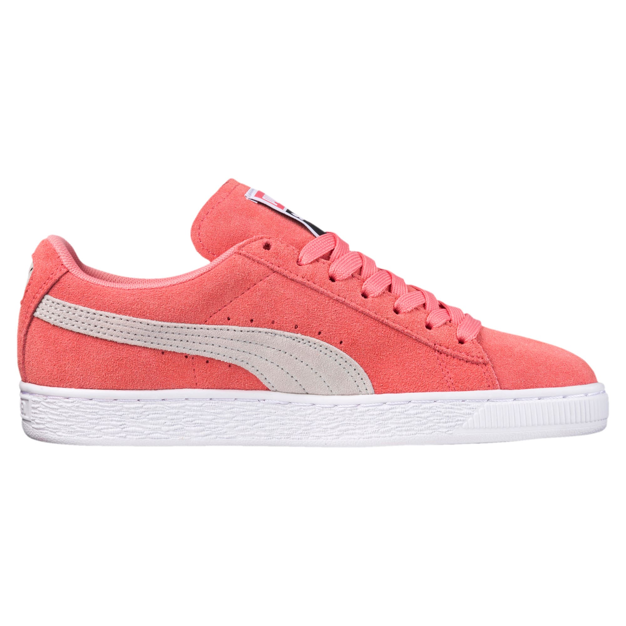 Thumbnail 3 of Suede Classic Women's Sneakers, Shell Pink-Glacier Gray, medium
