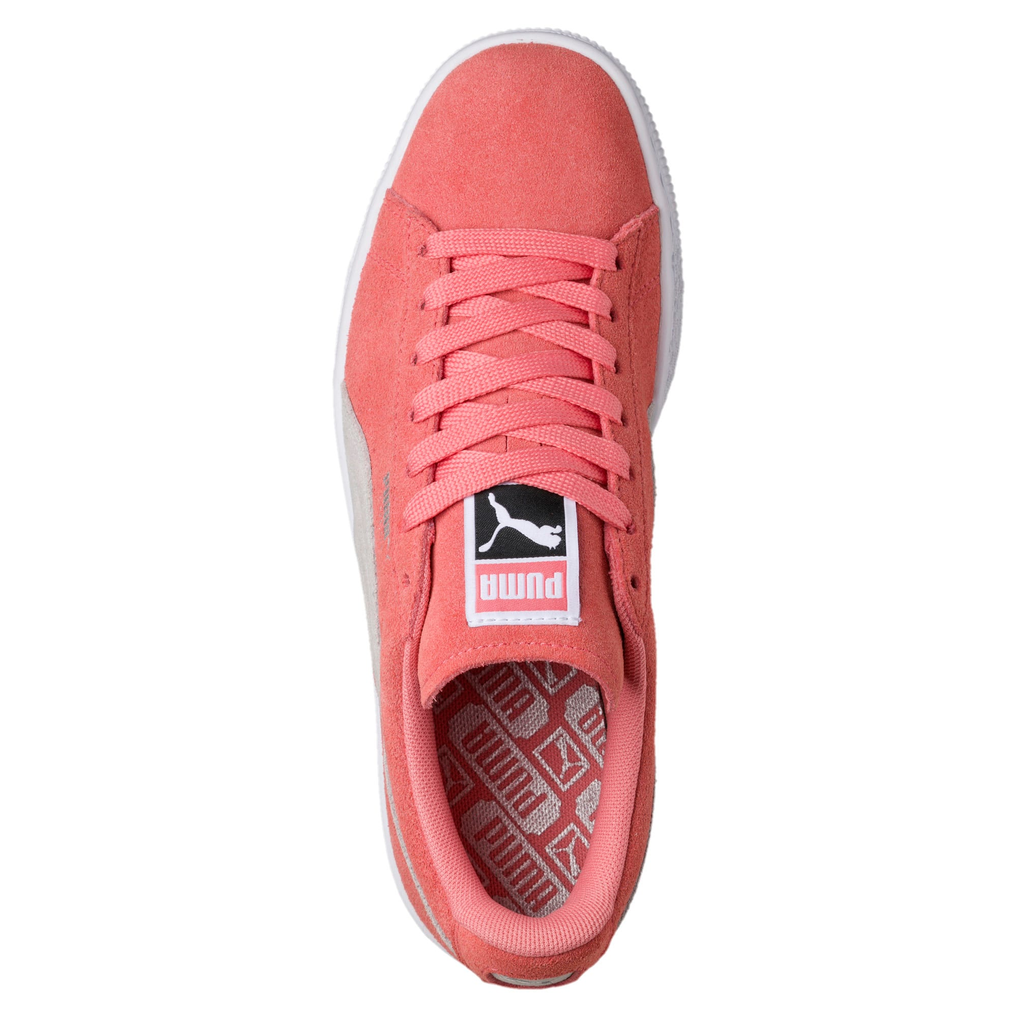 Thumbnail 5 of Suede Classic Women's Sneakers, Shell Pink-Glacier Gray, medium